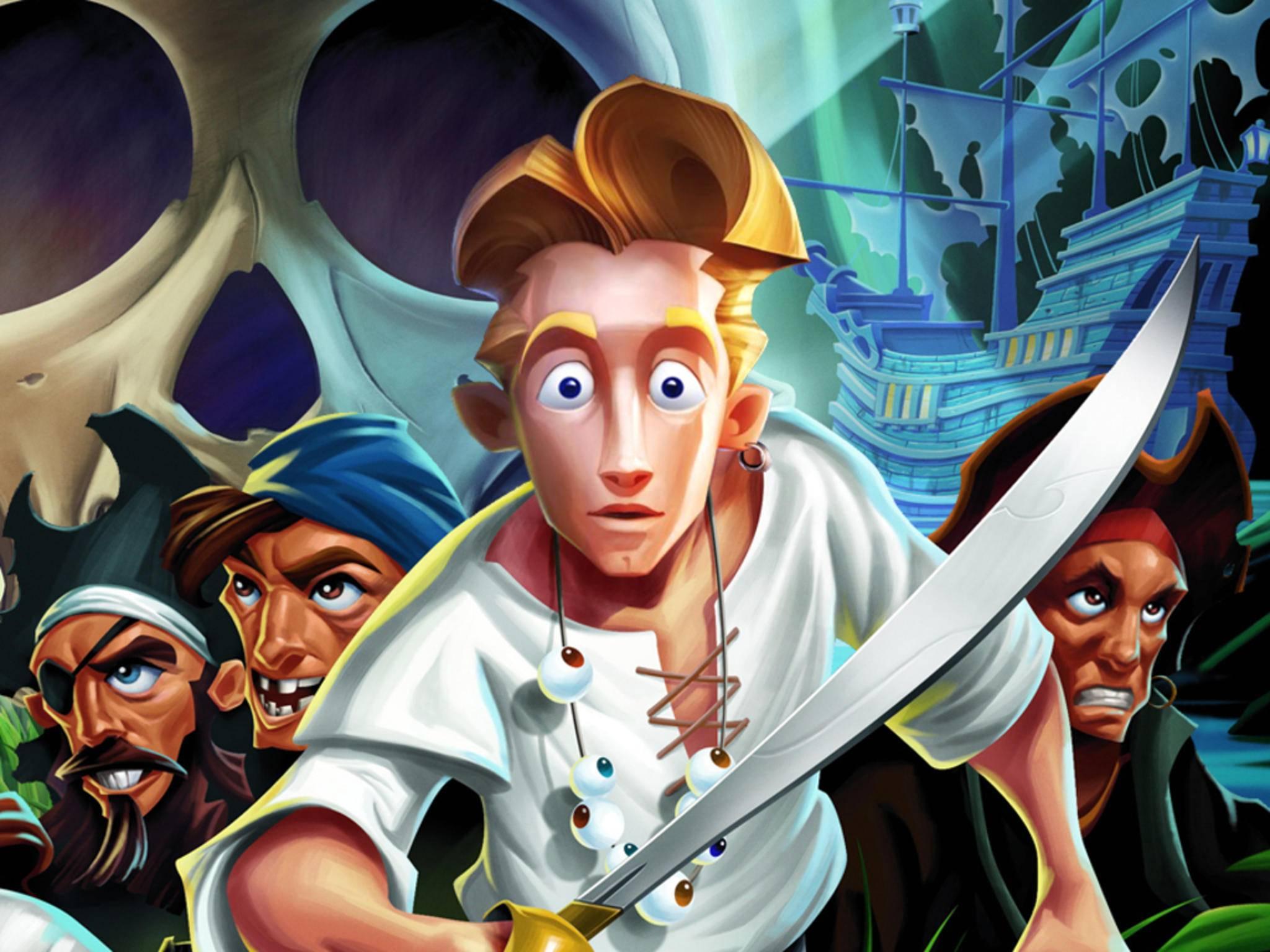 """Vom ersten """"Monkey Island""""-Teil erschien später ein Remake mit besserer Grafik."""