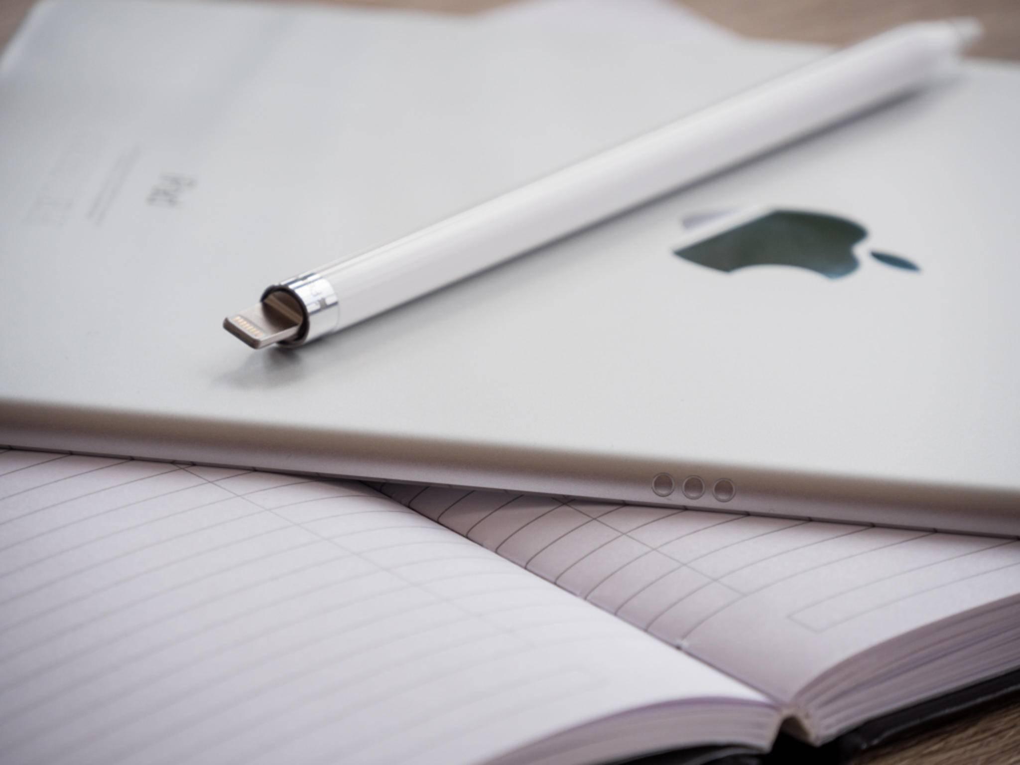 Das iPad Pro verfügt zudem über einen Smart Connector für den Anschluss des Smart Keyboards.