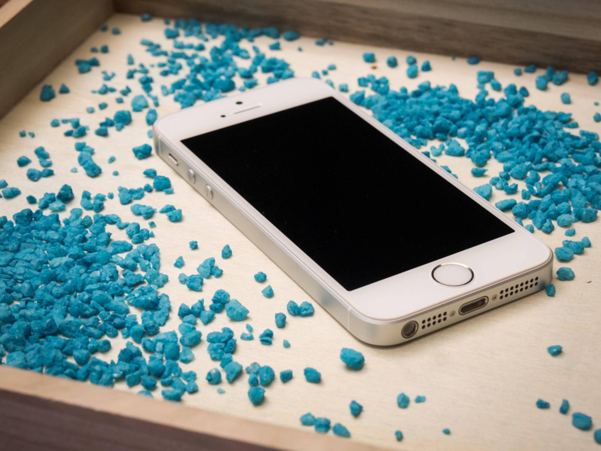 Der Touchscreen-Controller entspricht genau dem des iPhone 5s.