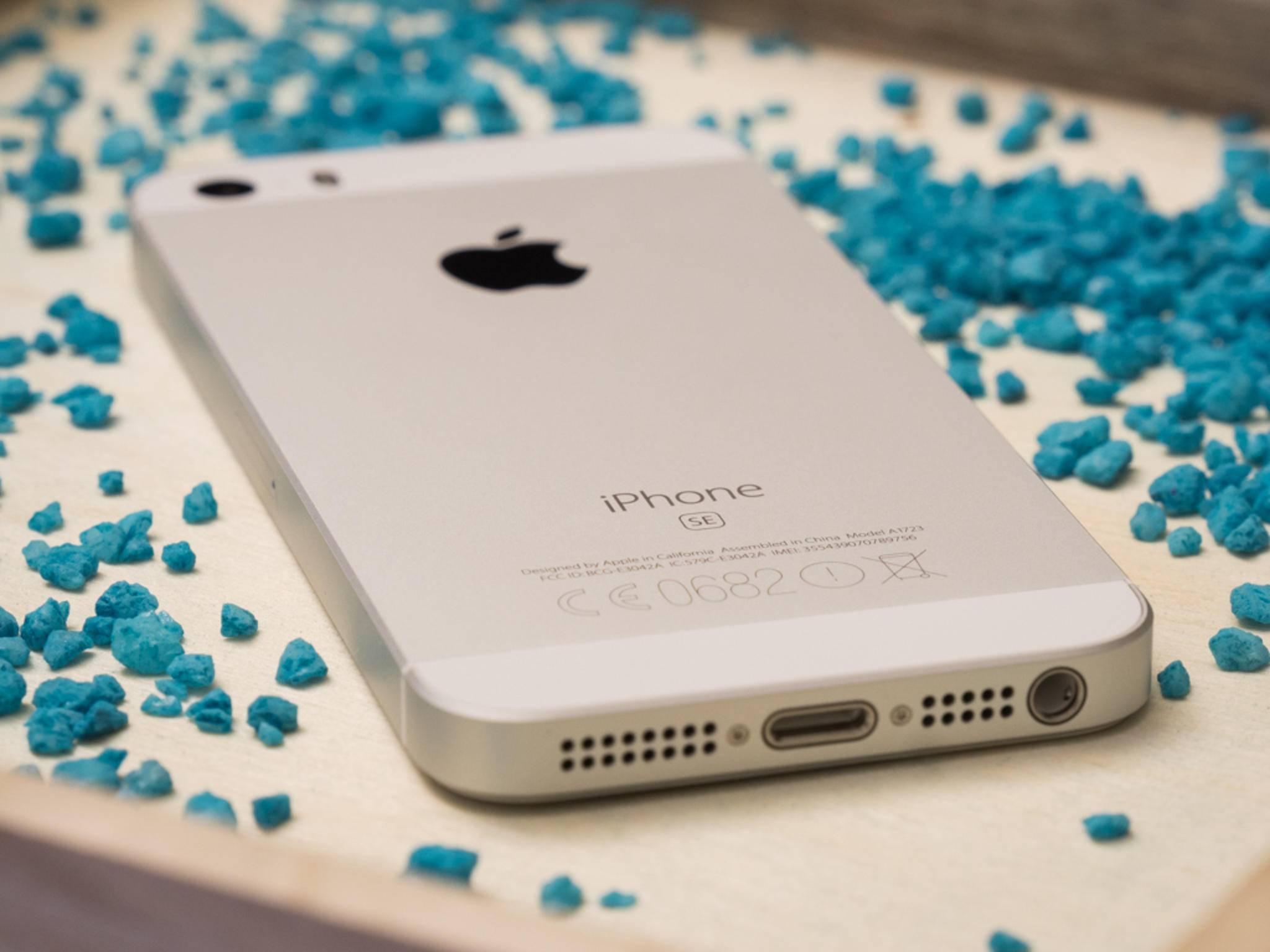 Das iPhone SE: verkauft sich gut, bringt aber zu wenig Profit für Apple.