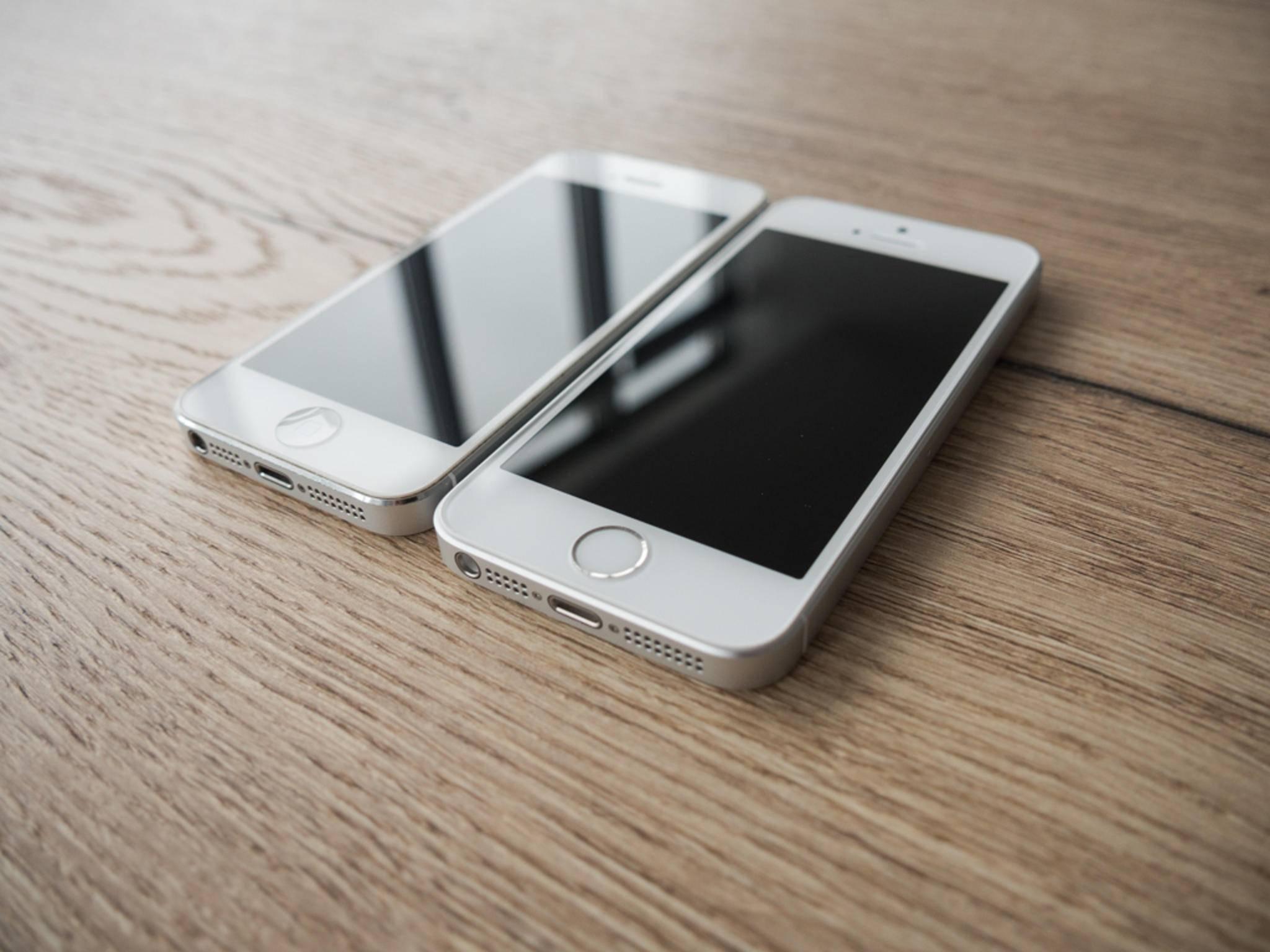 Die Abmessungen beider Smartphones sind identisch.