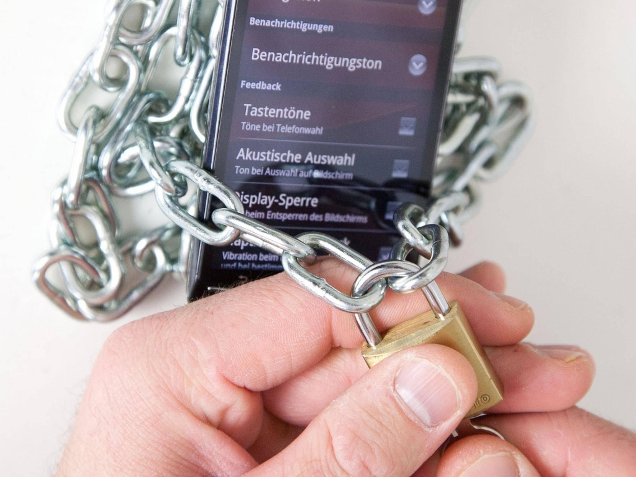 Mit Smart Lock lässt sich das Android-Smartphone intelligent entsperren.