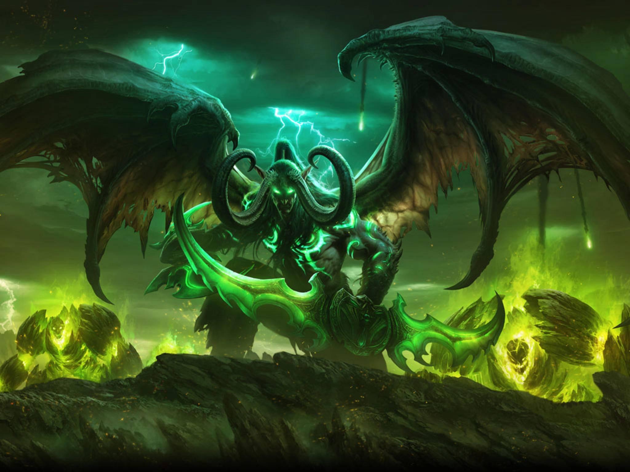 """Mit """"World of Warcraft: Legion"""" feiert das sechste WOW-Add-on Ende August Release."""