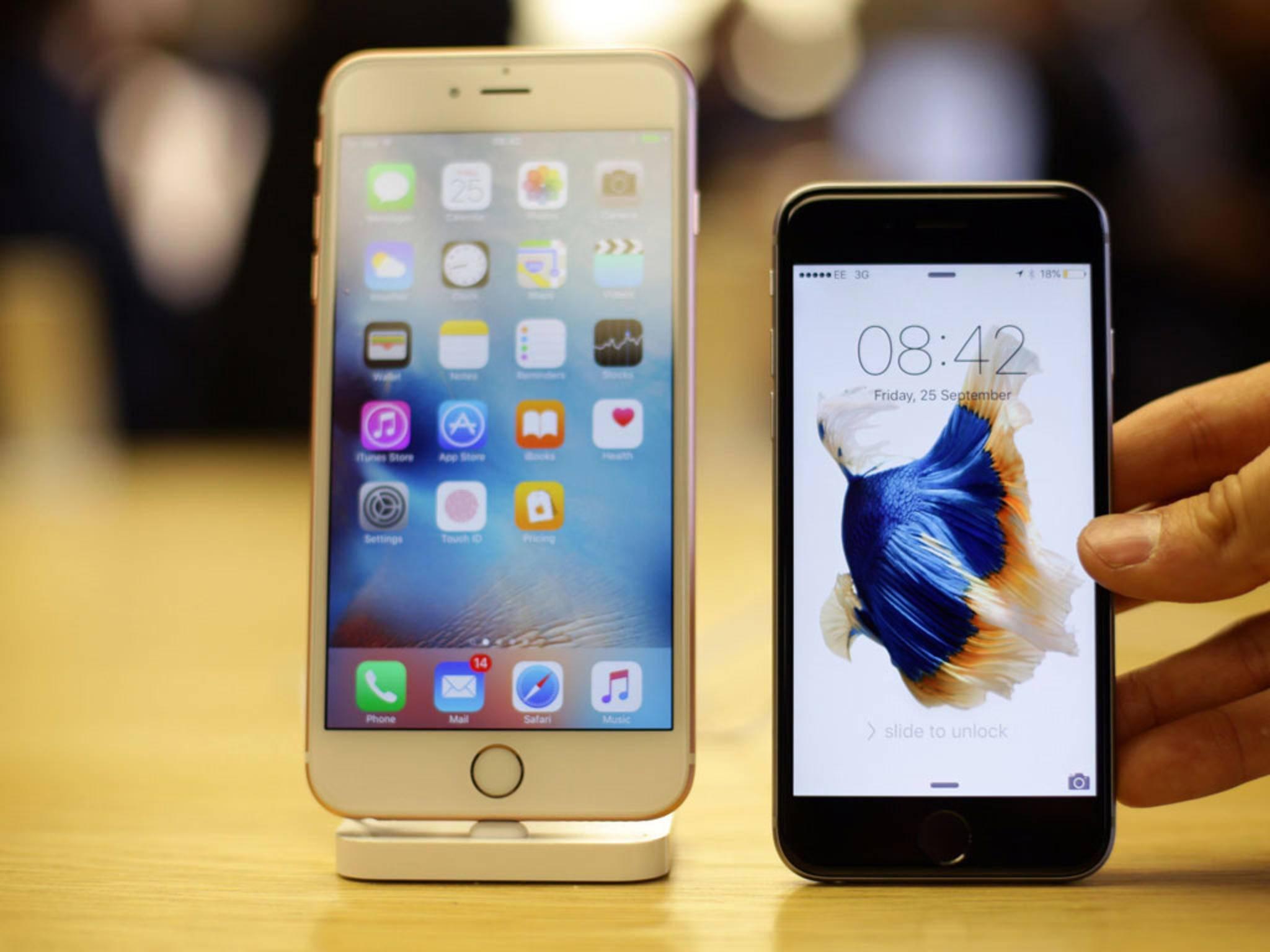 Apple hat die Sicherheitslücke auf dem iPhone 6s und iPhone 6s Plus geschlossen.