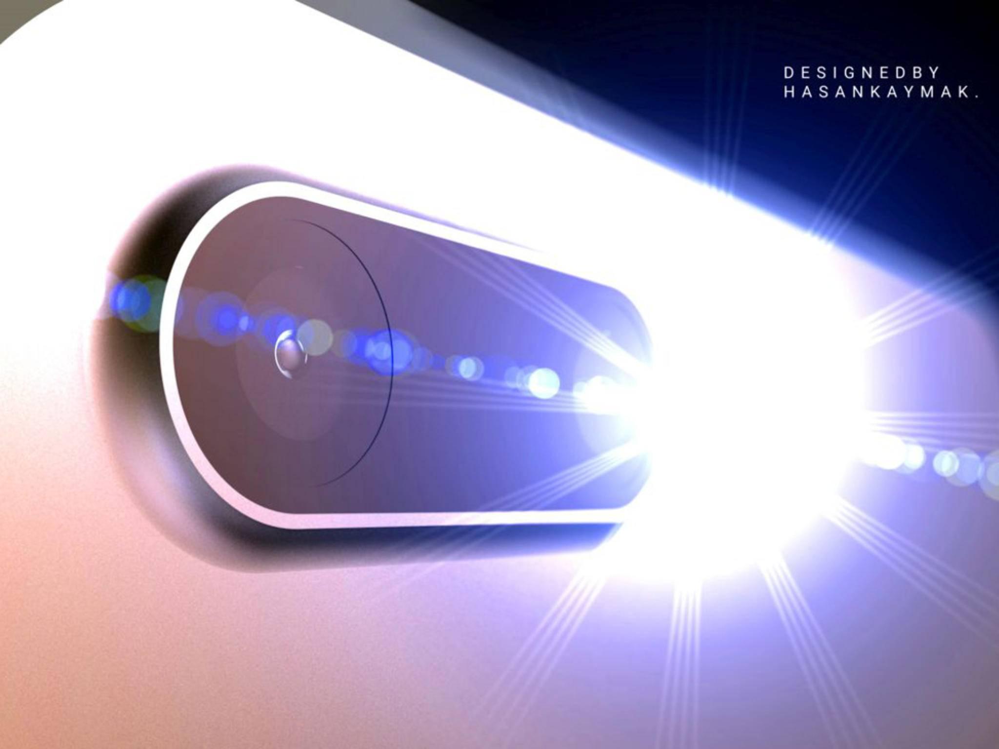 Eine Präsentationsfolie des iPhone-Herstellers Foxconn bestätigt Gerüchte über eine Dual-Cam des iPhone 7 Plus wie dieses Konzeptbild.