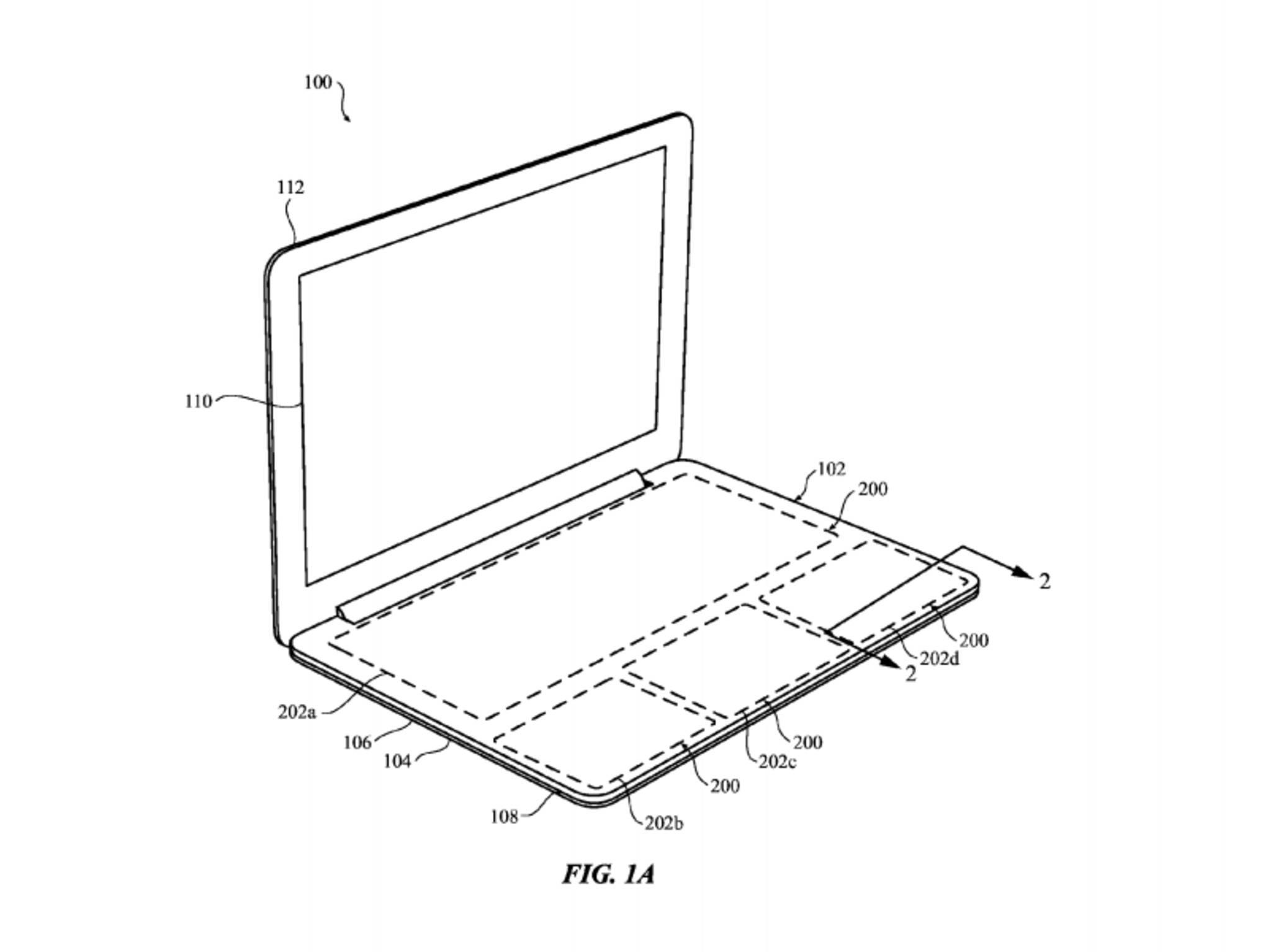 So könnte eine virtuelle Tastatur für MacBooks aussehen.