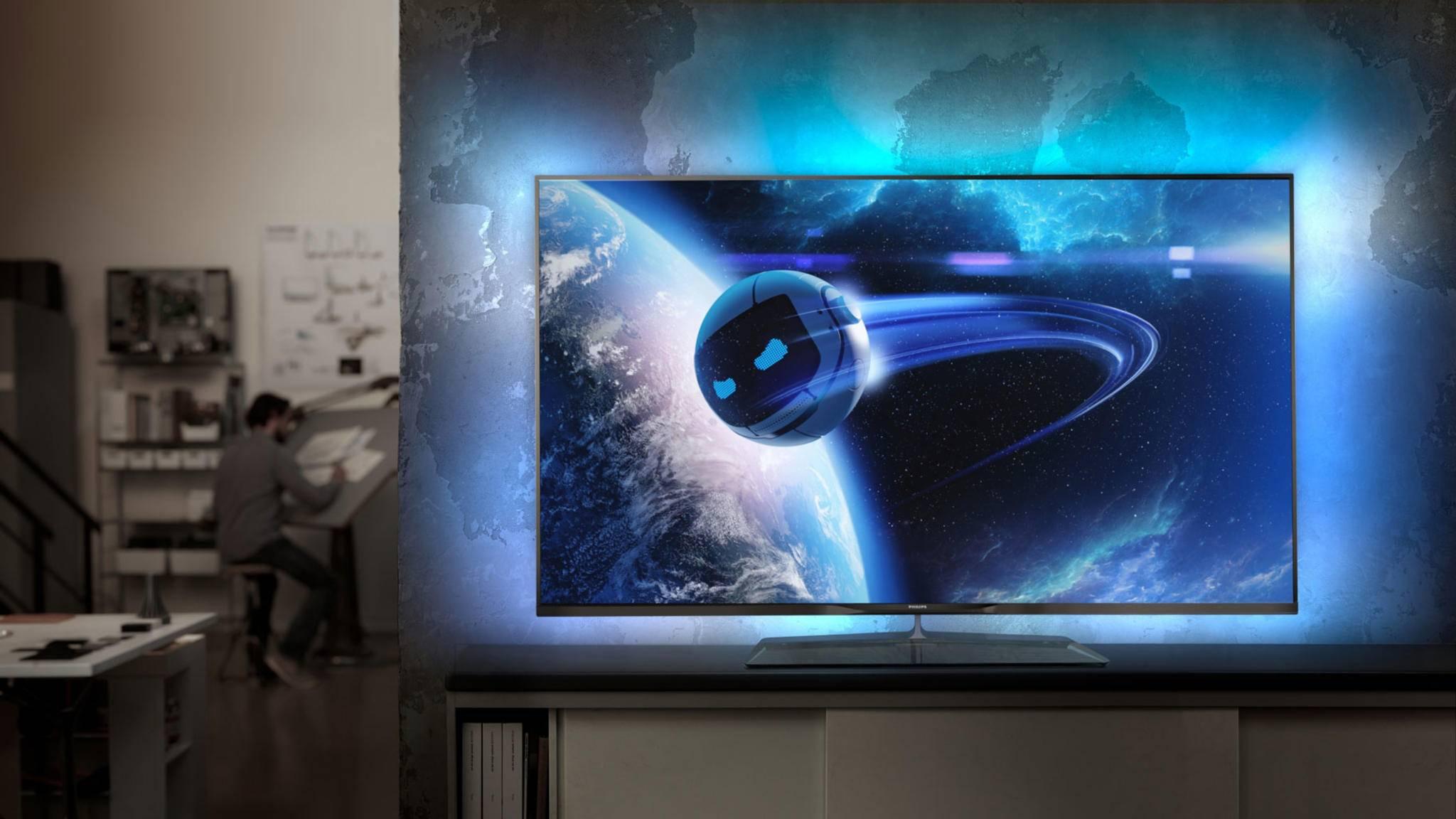 Moderne TVs unterstützen in der Regel HDR.