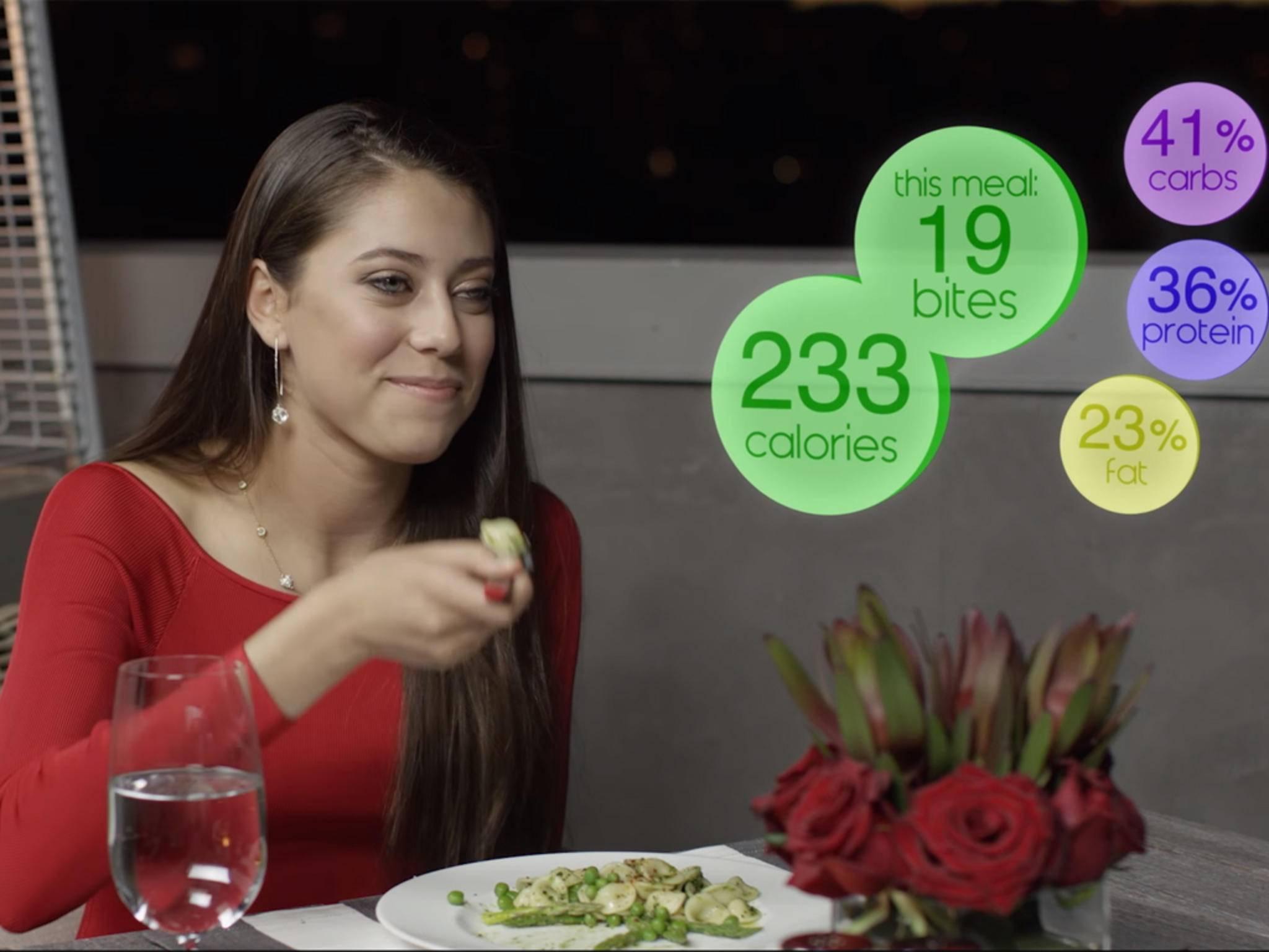 Während beim Essen die Kalorien gezählt werden ...