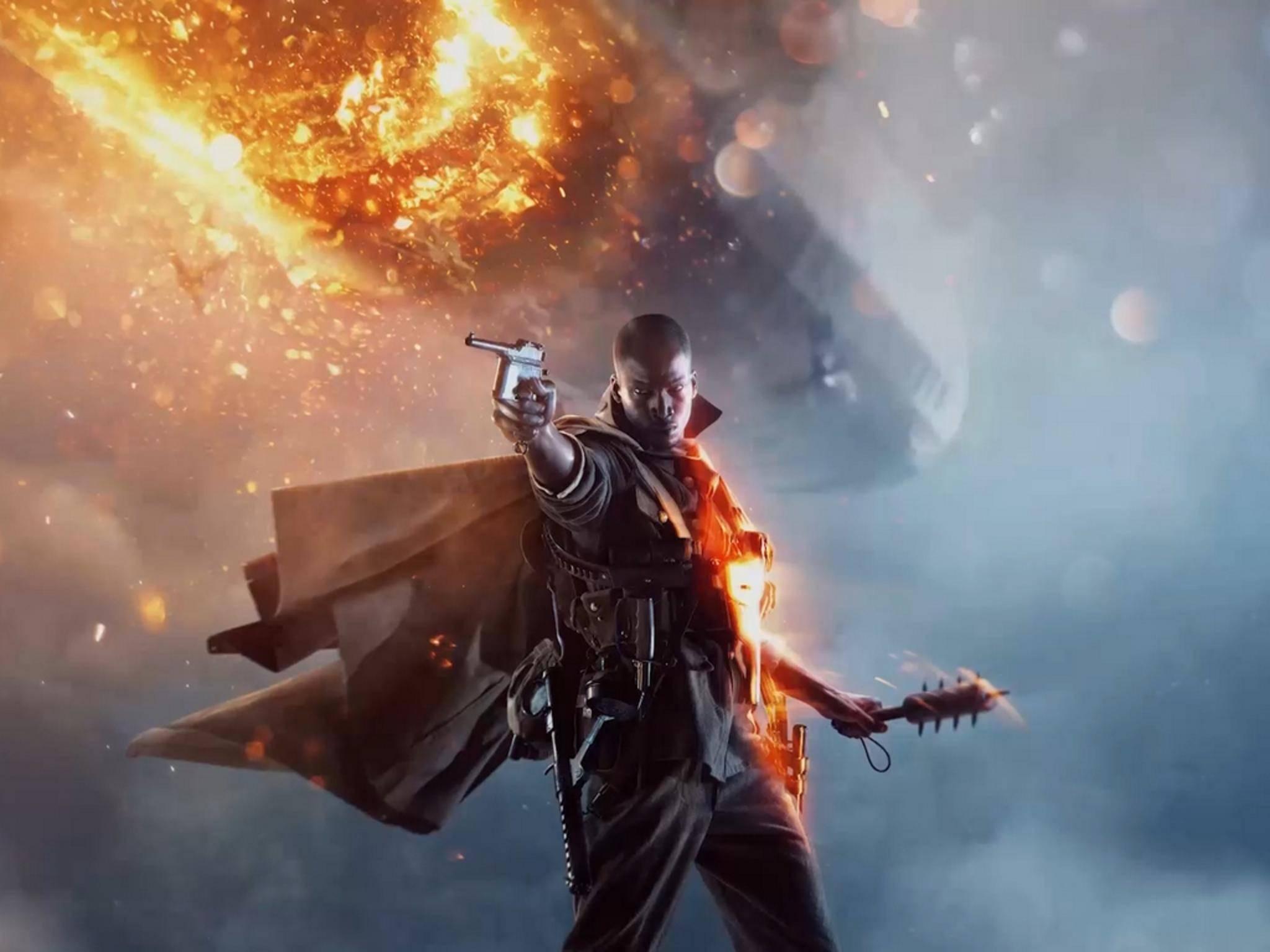 """""""Battlefield 1"""" versetzt den Spieler in den Ersten Weltkrieg."""