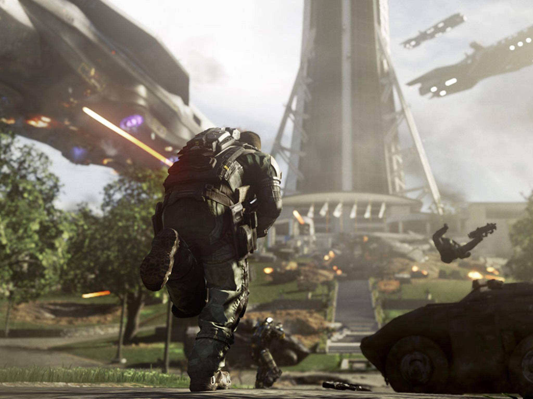 """""""Call of Duty: Infinite Warfare"""" bietet im Vergleich zu den Vorgängern reichlich neue Features."""