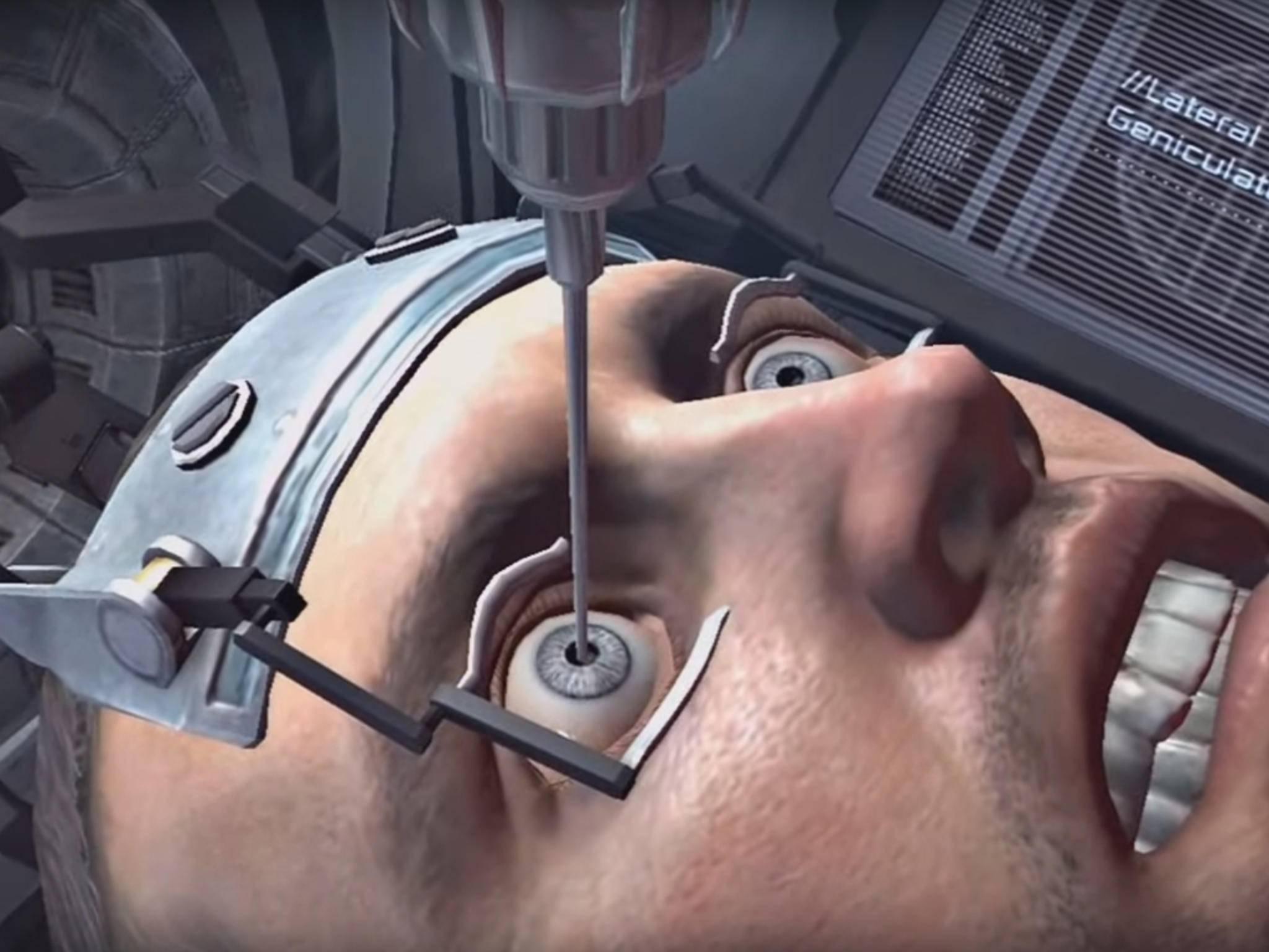 Das geht ins Auge: Dead Space 2.