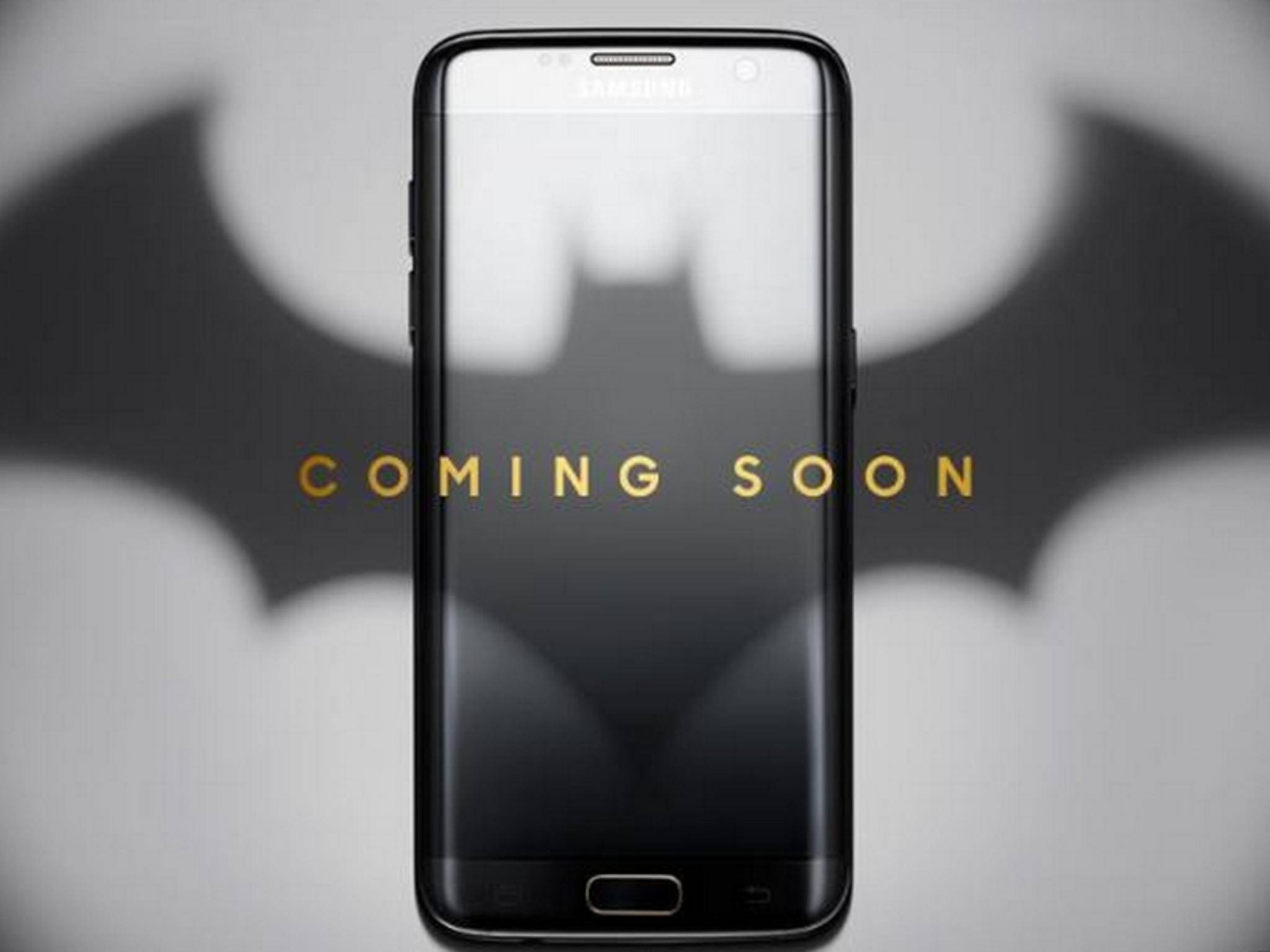 Samsung plant eine Batman-Edition des Galaxy S7 Edge.