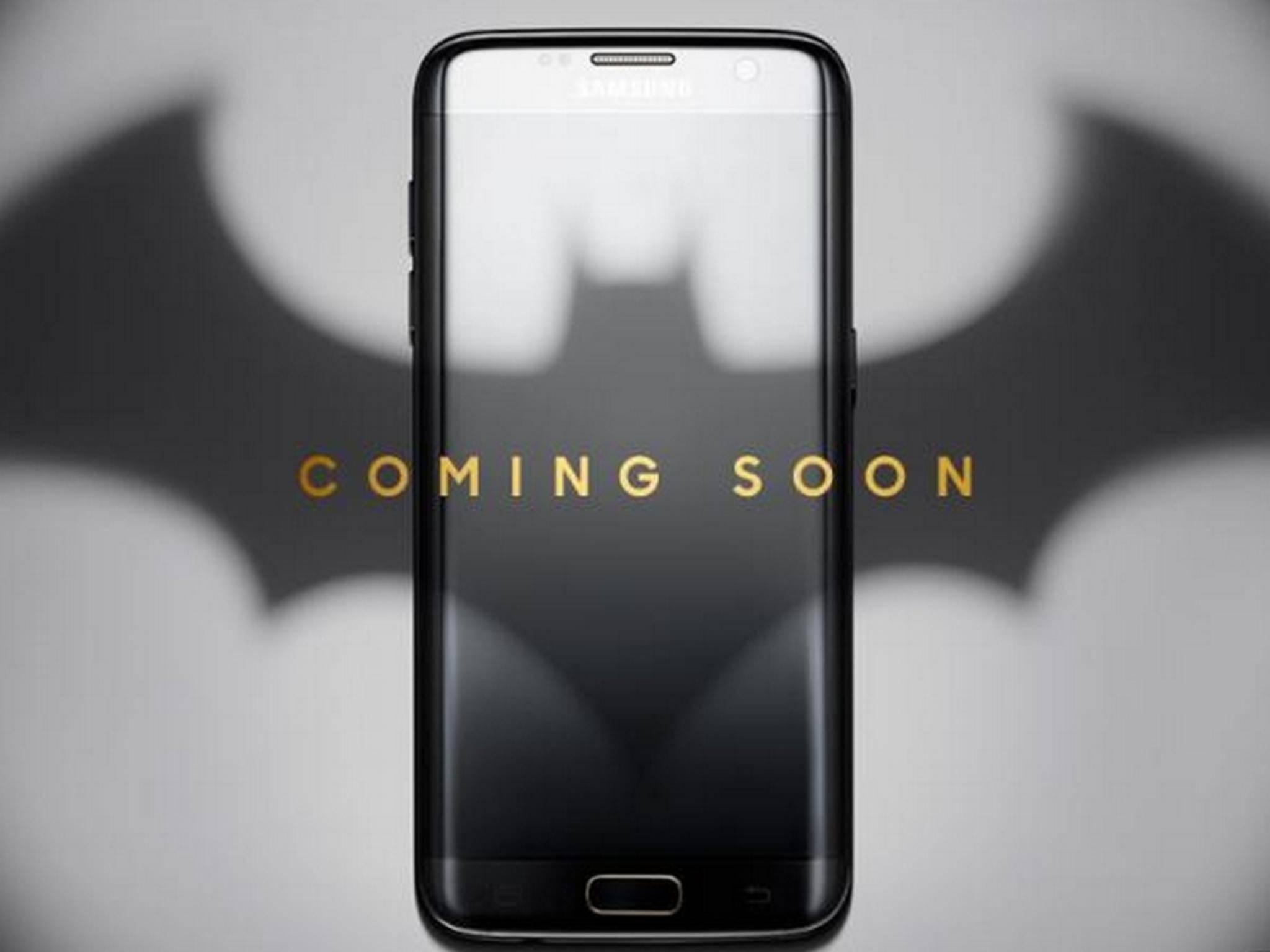 Samsung plant eine Batman-Edition des Galaxy S7 Edge.