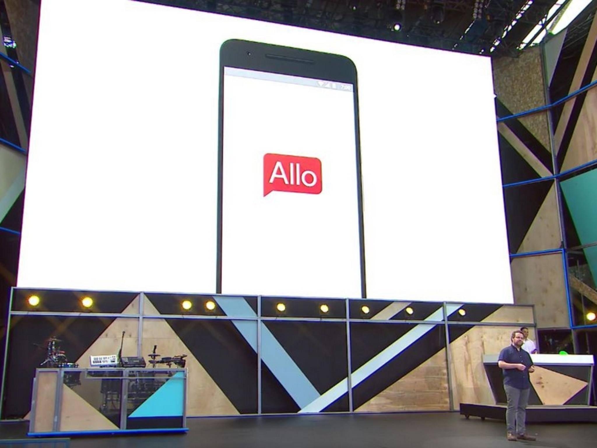 Google stellte Allo bereits auf seiner Entwicklerkonferenz vor.