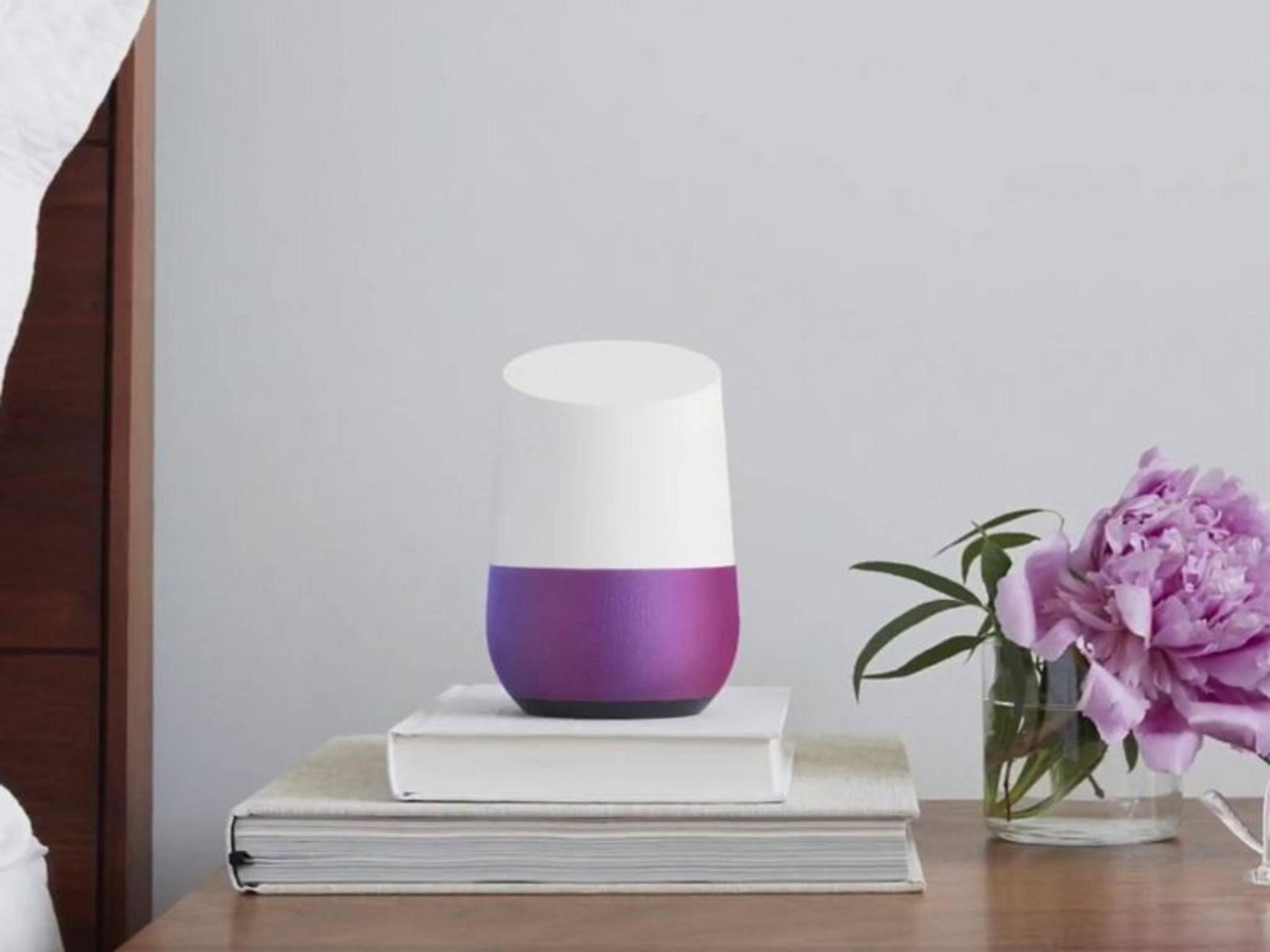 Google Home soll die Wohnzimmer erobern.