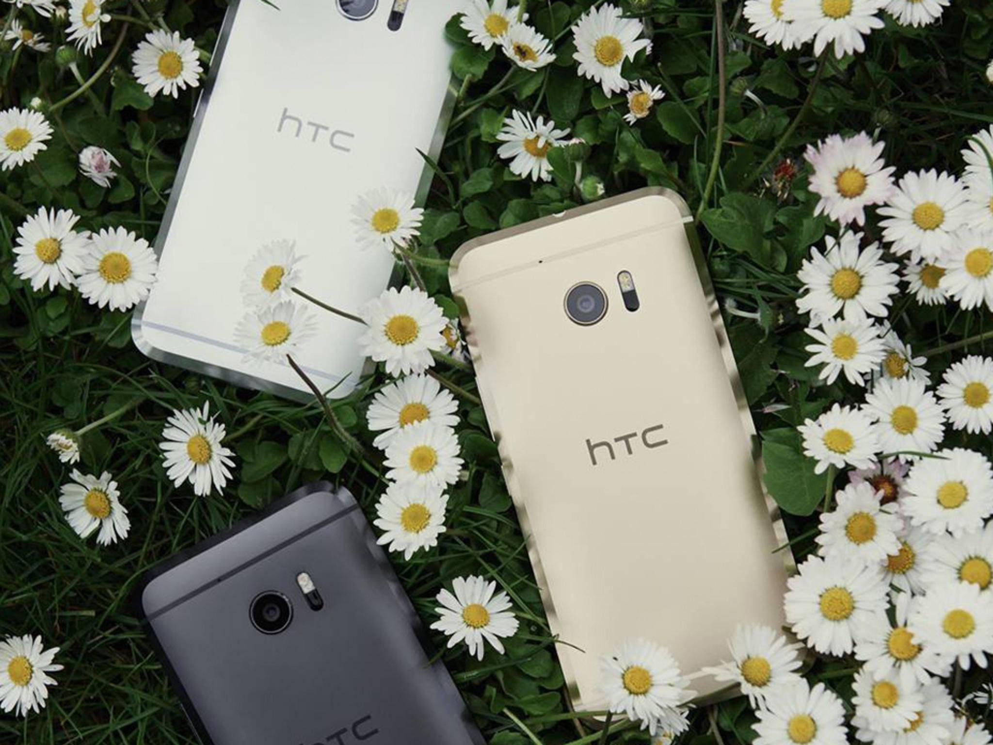 Blumige Aussichten: Das HTC 10 bekommt Android N.