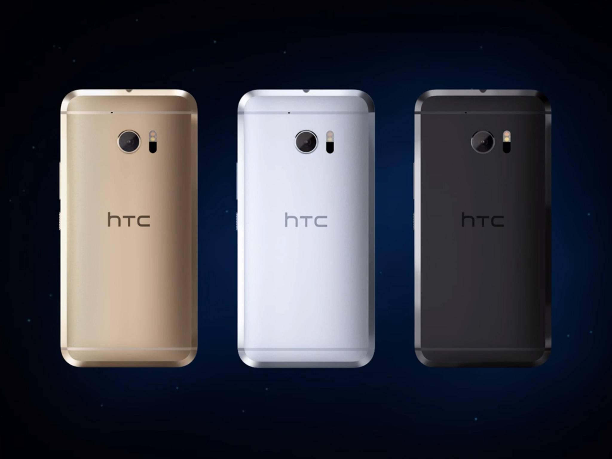 Noch bevor es auf den Markt kommt, erhält das HTC 10 schon ein Update.