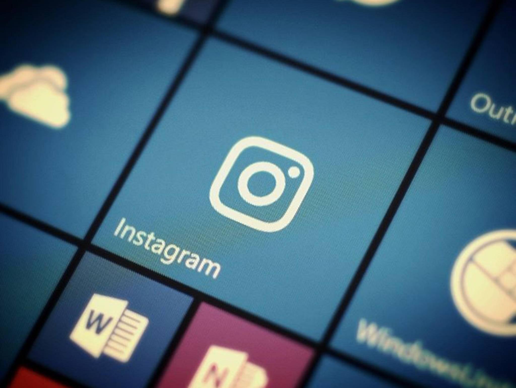 Der neue Instagram-Look ist für Windows 10 Mobile verfügbar.