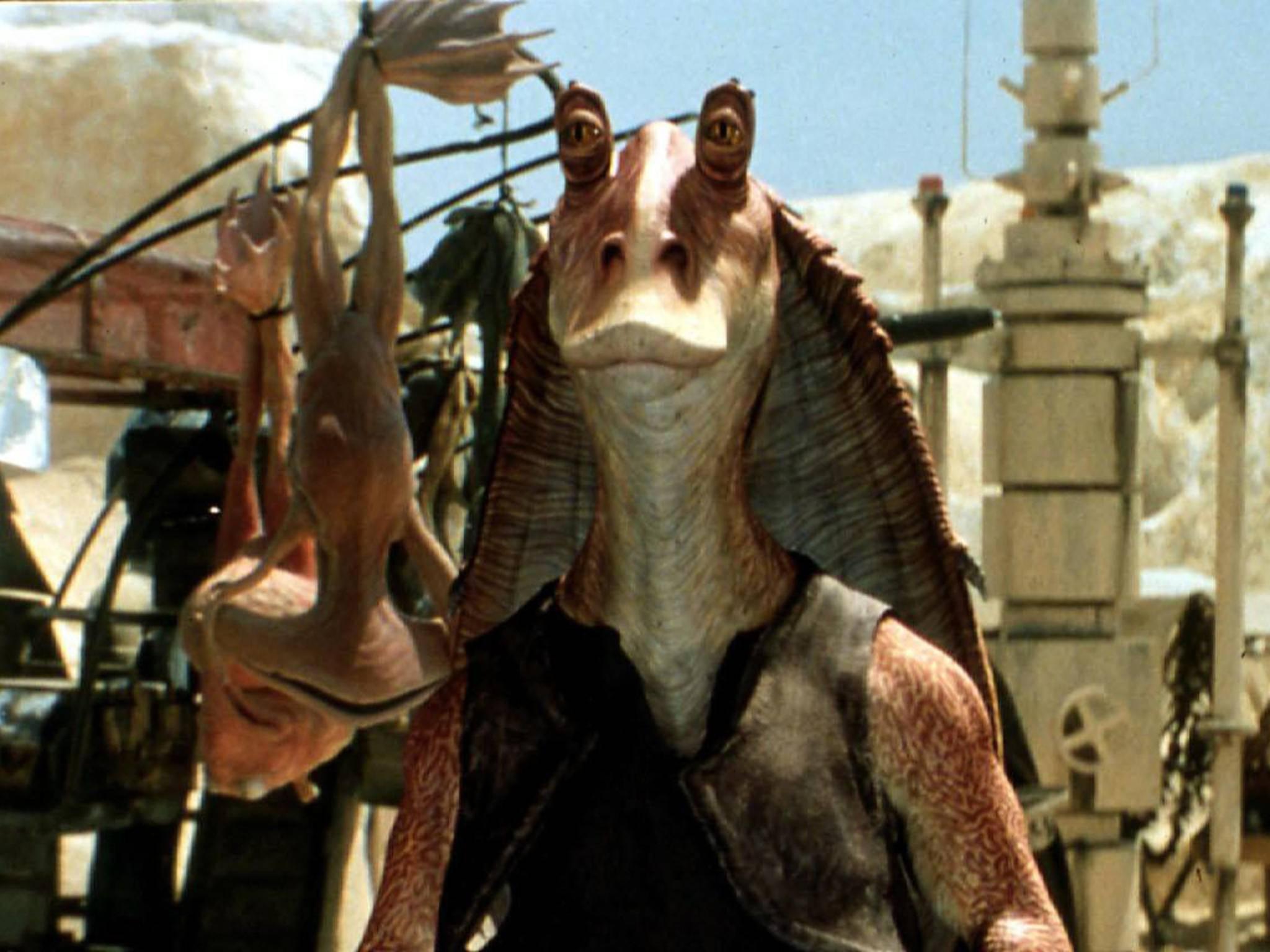 """Jar Jar Binks! Muss man noch mehr zu """"Star Wars: Episode 1"""" sagen?"""