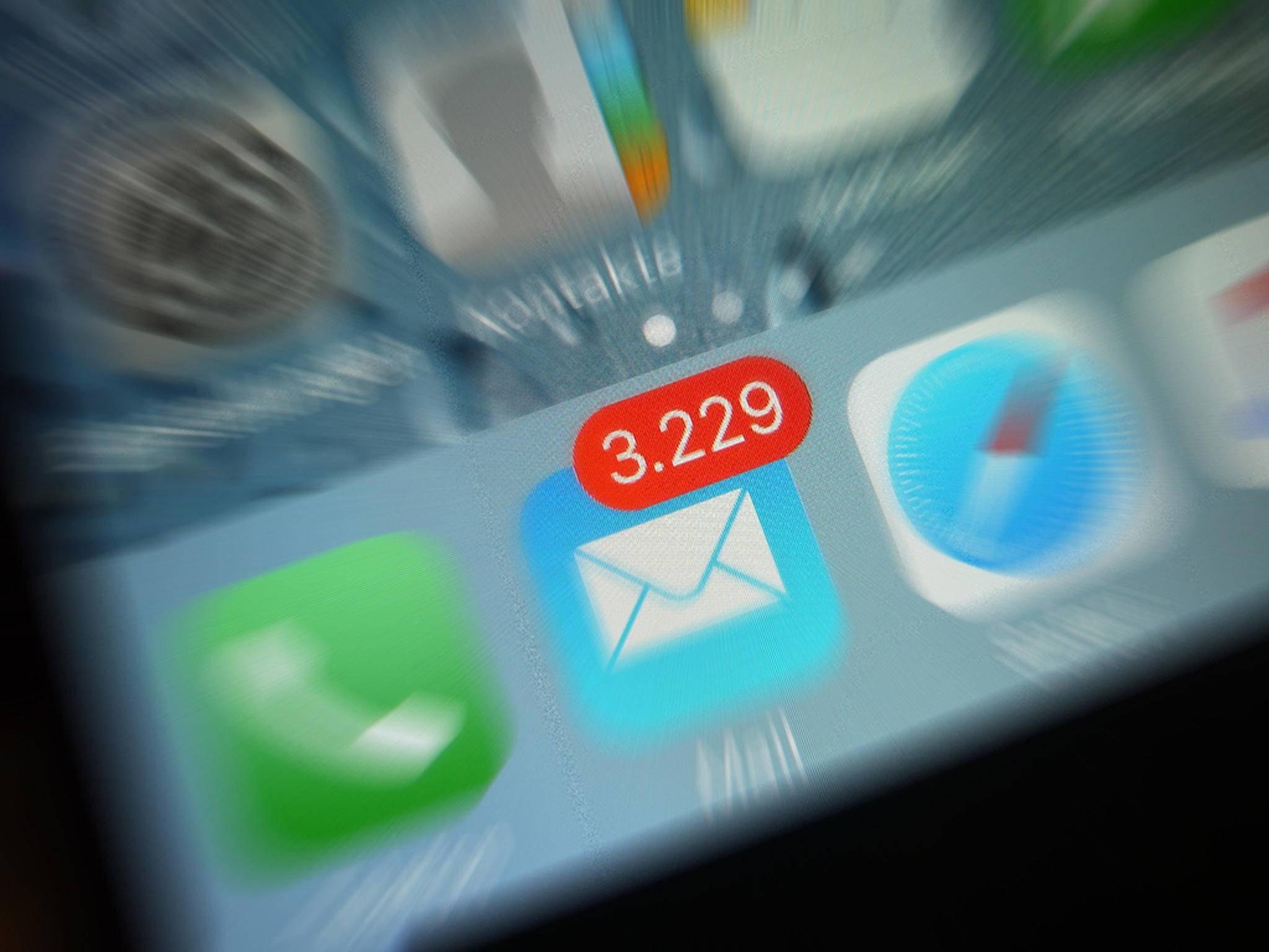 Am Freitag konnten Mails via iCloud lange Zeit nicht verschickt werden.