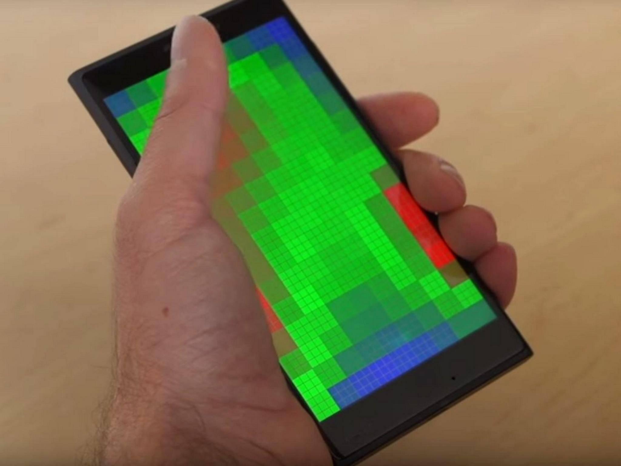 Sehen wir hier das Smartphone der Zukunft?