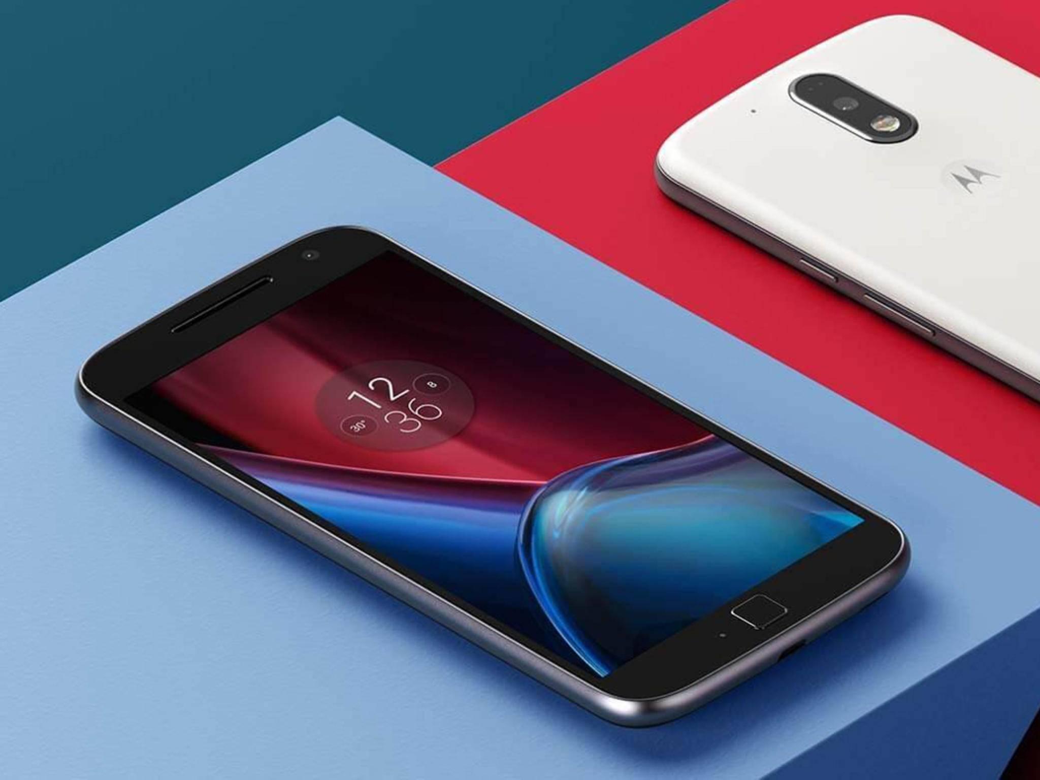 So sieht das neue Moto G4 Plus von Motorola aus.