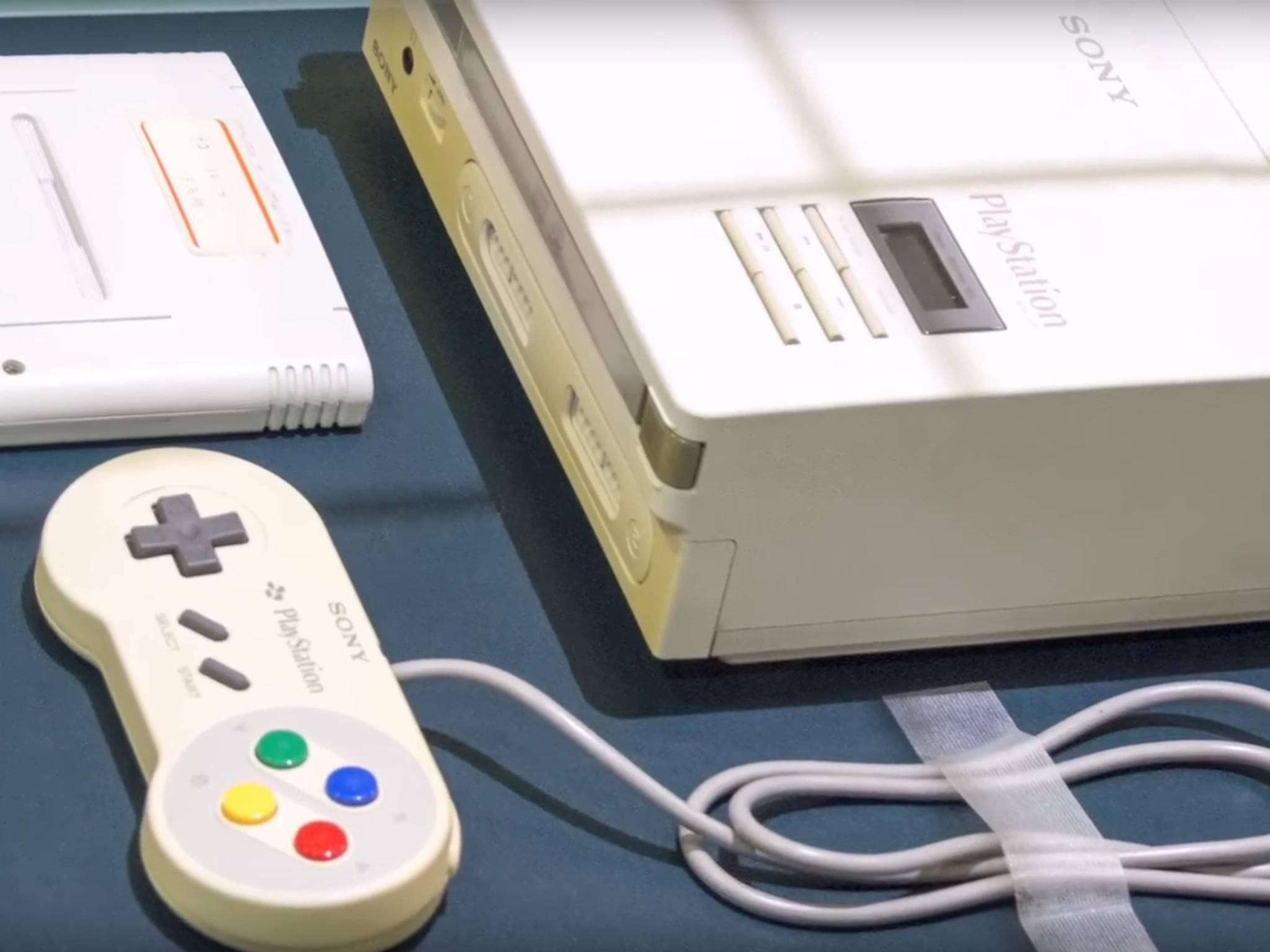 Die Nintendo PlayStation ist nie erschienen, dafür folgte später die PS One.