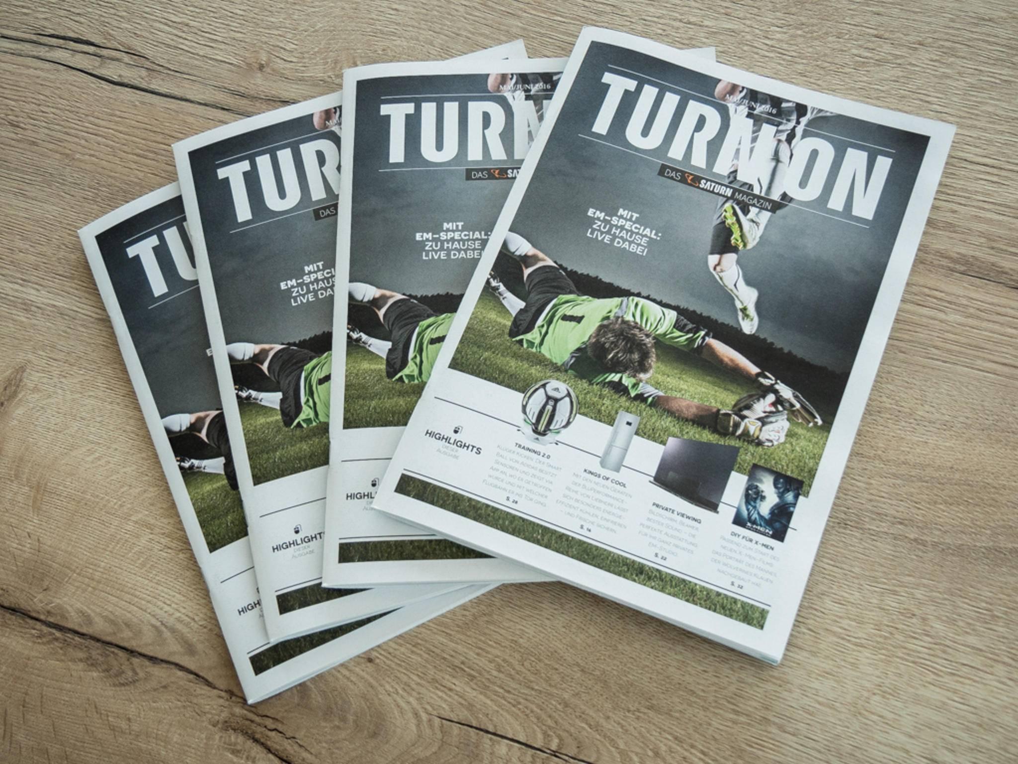 Passend zur EM 2016 geht es auch im neuen Magazin um das Thema Fußball.