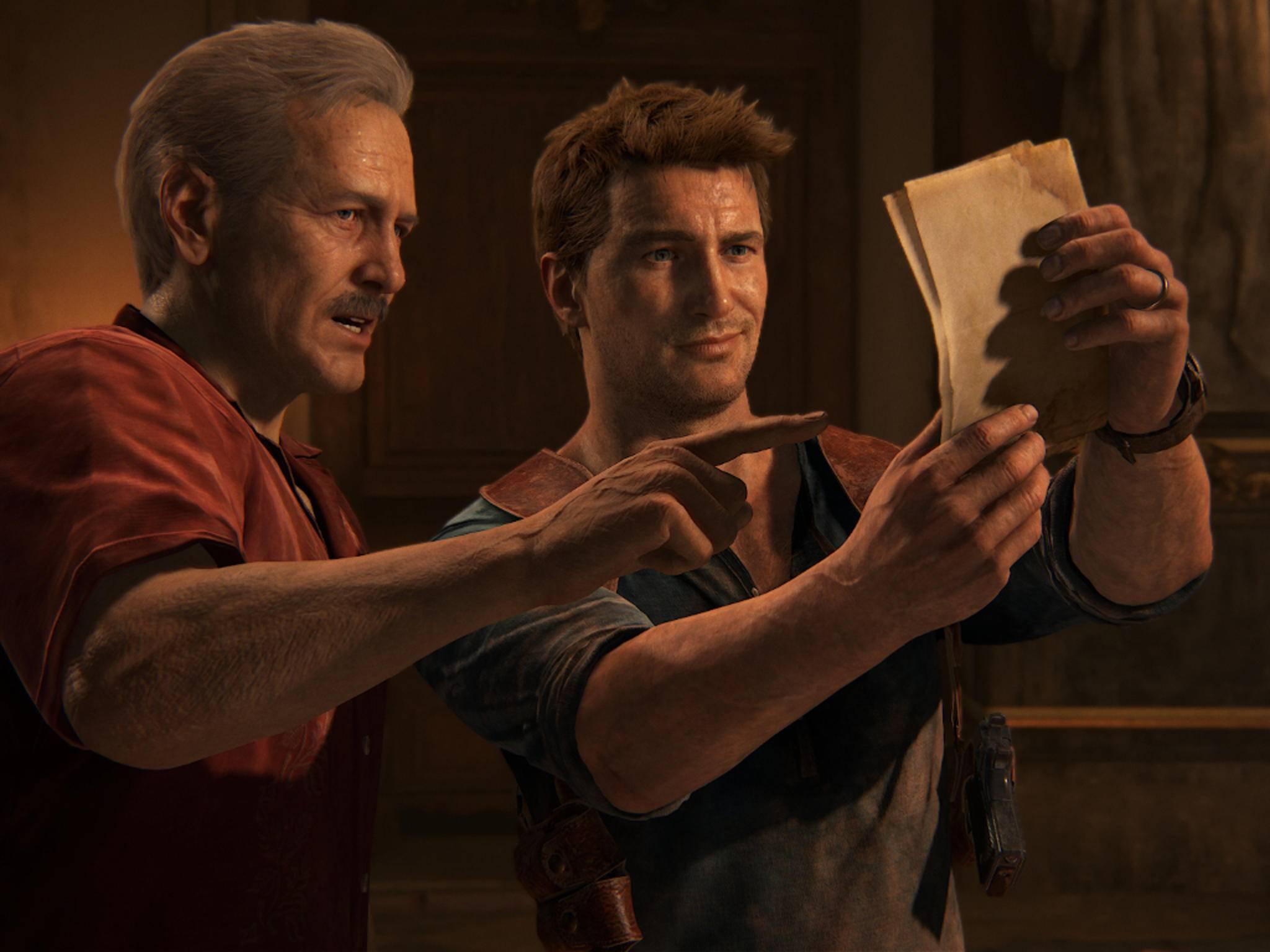 """Nathan Drakes Kumpel Sully soll auch im DLC zu """"Uncharted 4"""" eine große Rolle spielen."""