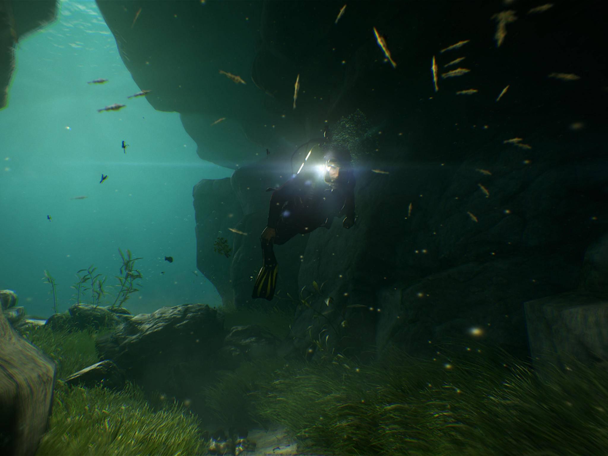 Unter Wasser gibt es diverse Schätze zu entdecken.