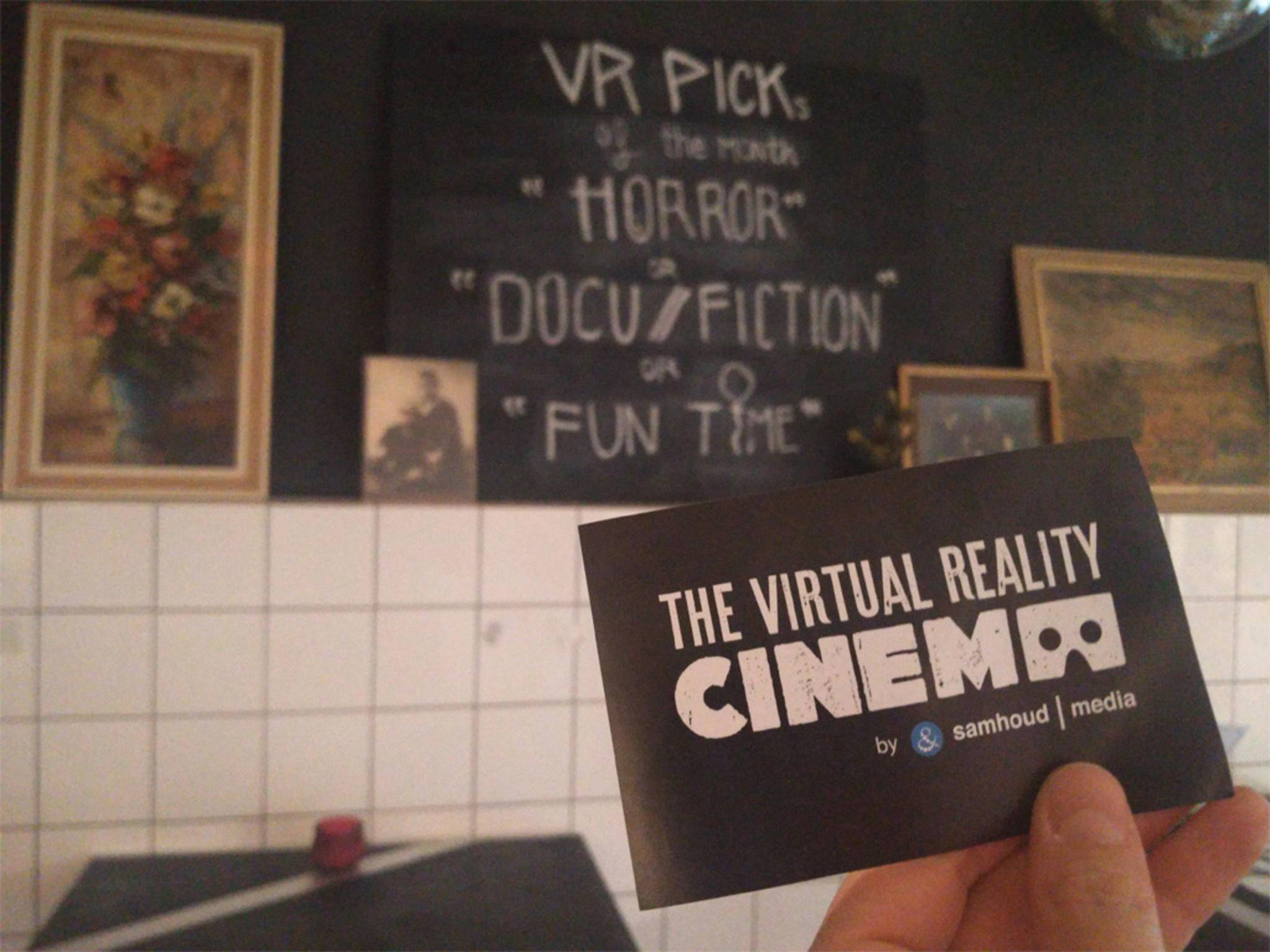 "... ""Horror"", ""Docu / Fiction"" und ""Fun Time""."