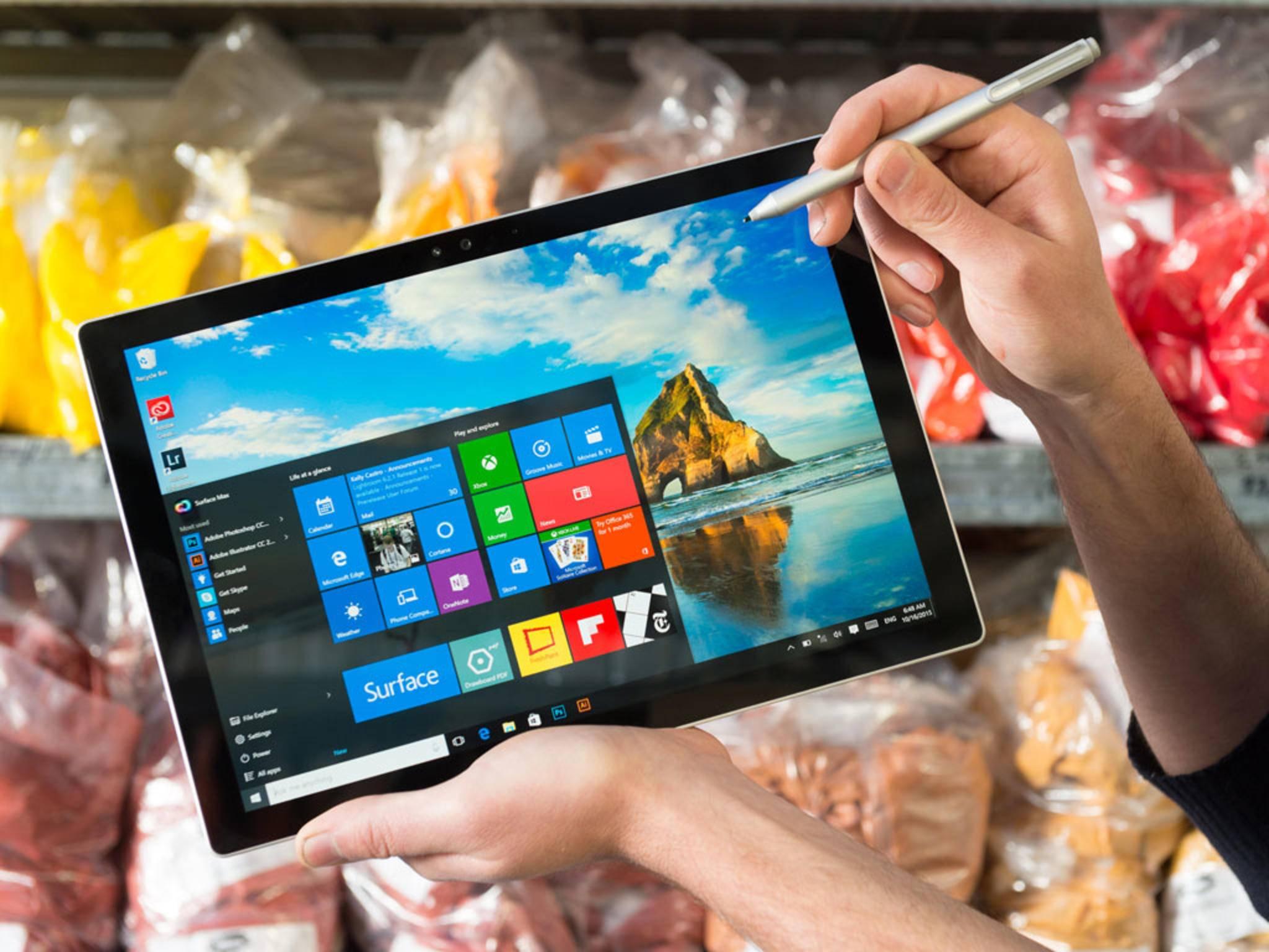 Wer auf falsche Ideen kommt, macht sein neues Windows 10 gleich wieder kaputt.