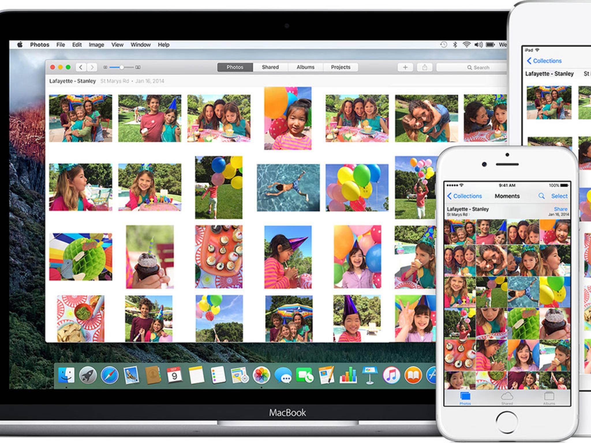 Apple dürfte die Fotoverwaltung in iOS 10 deutlich optimieren.