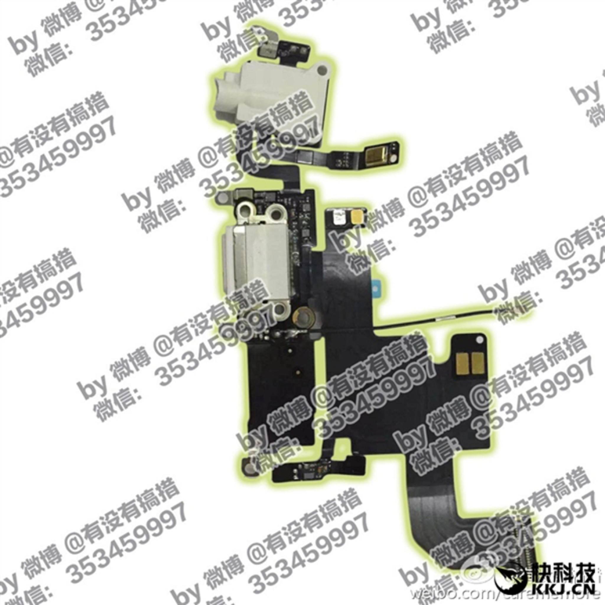 Dieses Foto soll ein Bauteil des kommenden iPhone 7 zeigen.