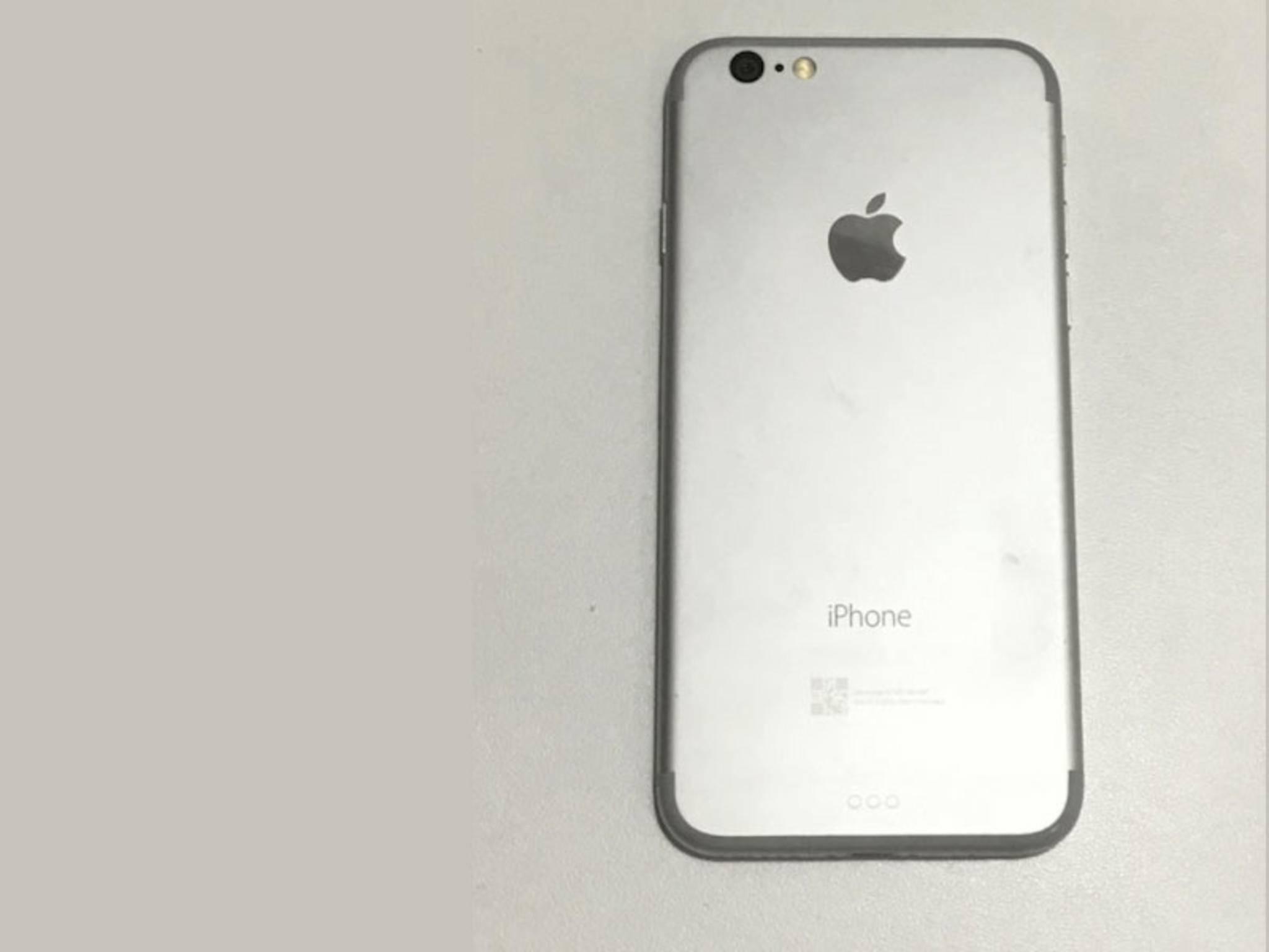 Bekommt das iPhone dezentere Antennenstreifen und einen Smart Connector?