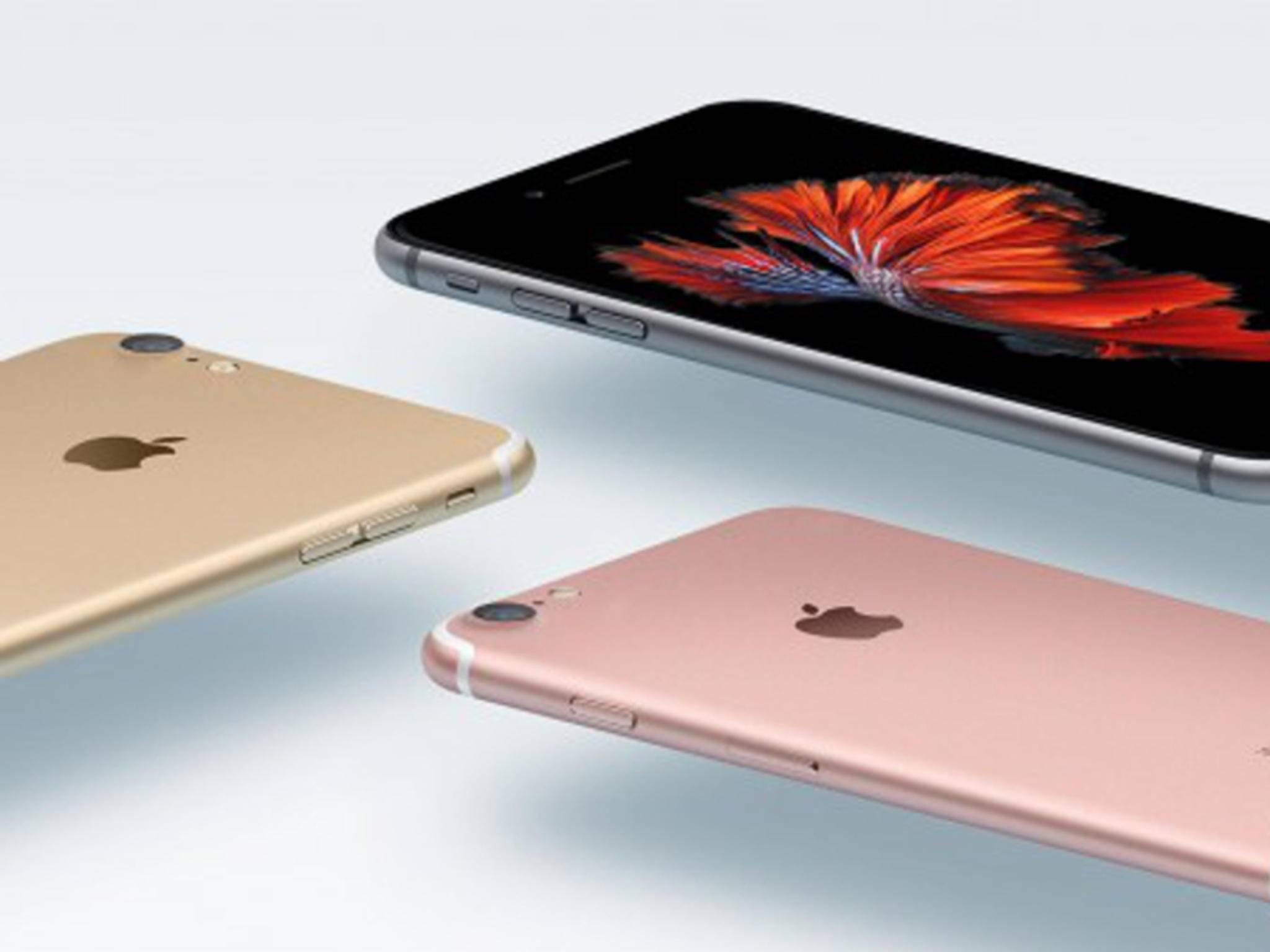 Beim iPhone 7 könnten die Antennenstreifen dezenter ausfallen.