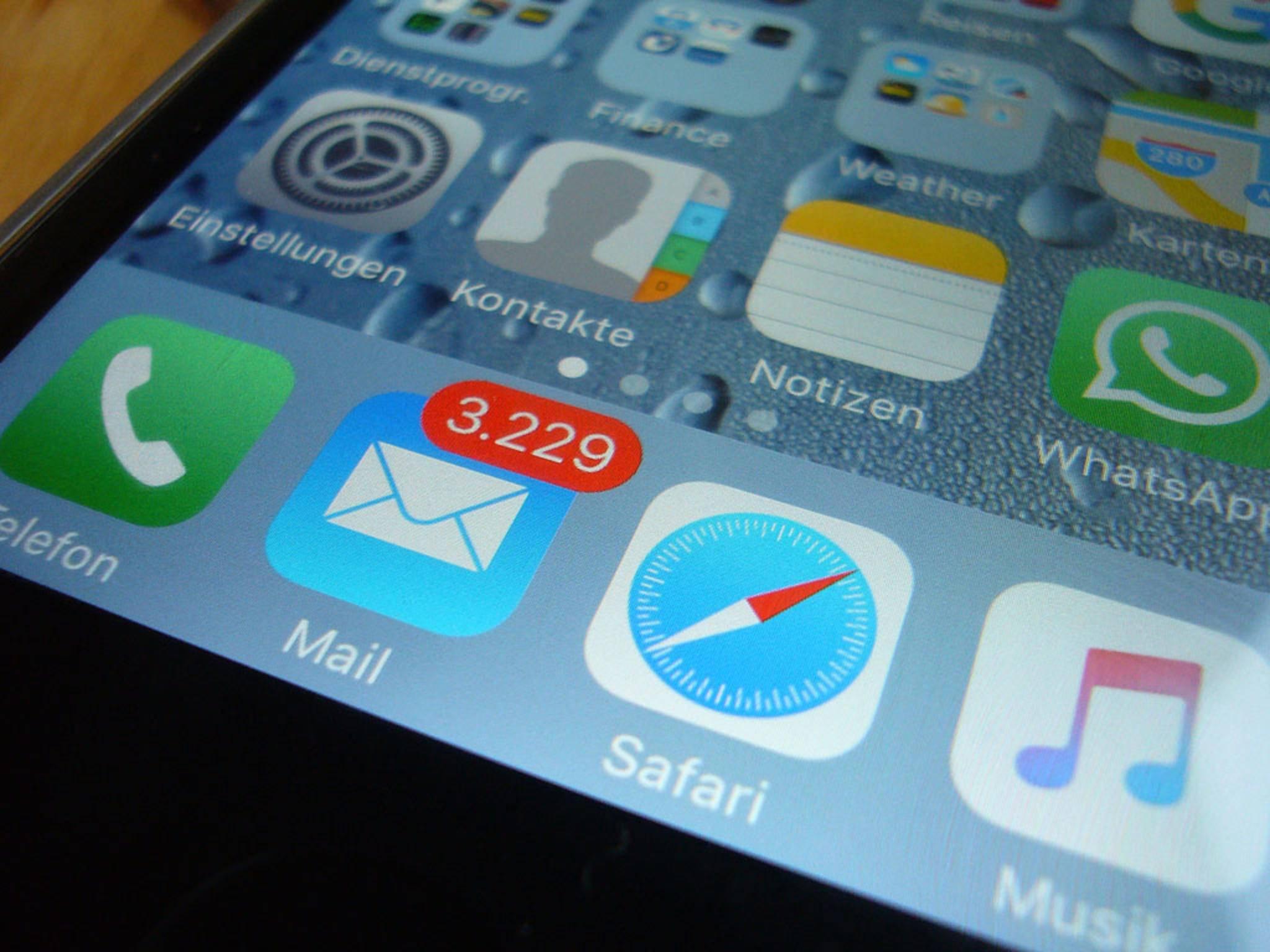 Mit diesem Trick kannst Du das iPhone-Dock nahezu verschwinden lassen.