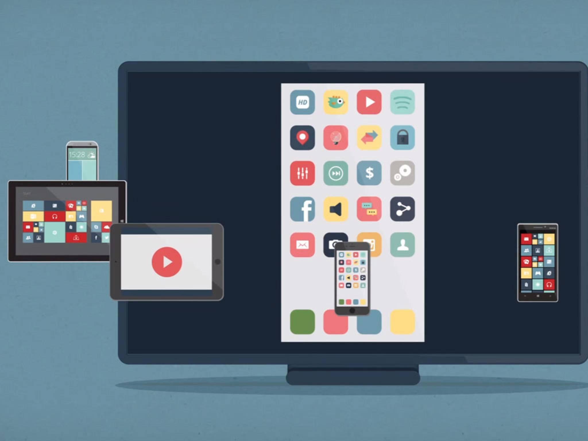 Der Inhalt des iPhone-Bildschirms lässt sich auf dem PC und Mac aufzeichnen.