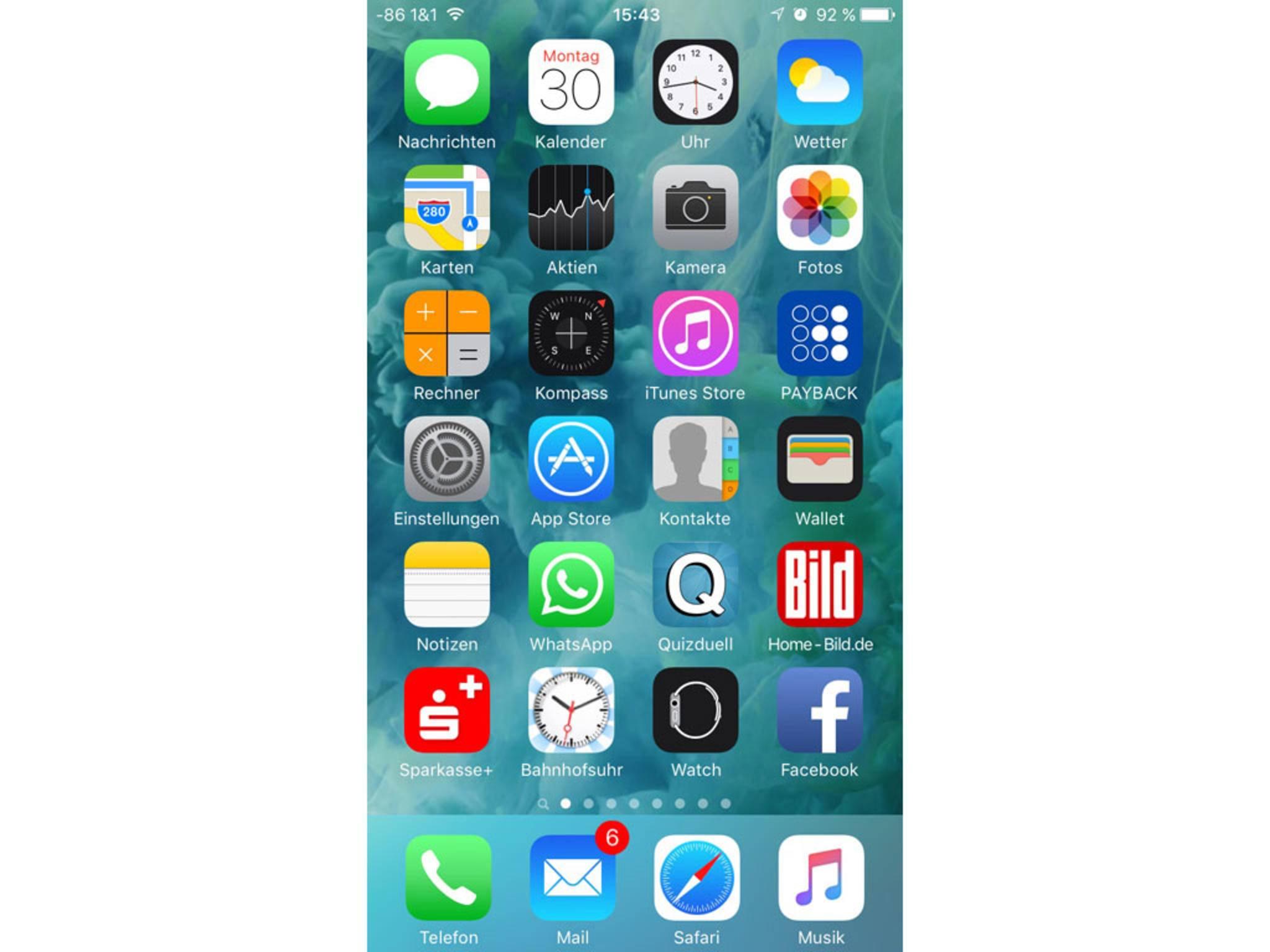 Die iPhone-Signalstärke wird nun deutlich exakter dargestellt.