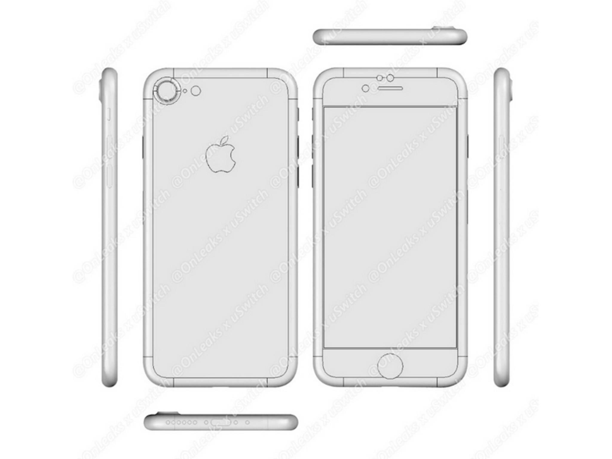 Das iPhone 7 mit größerer Kamera.