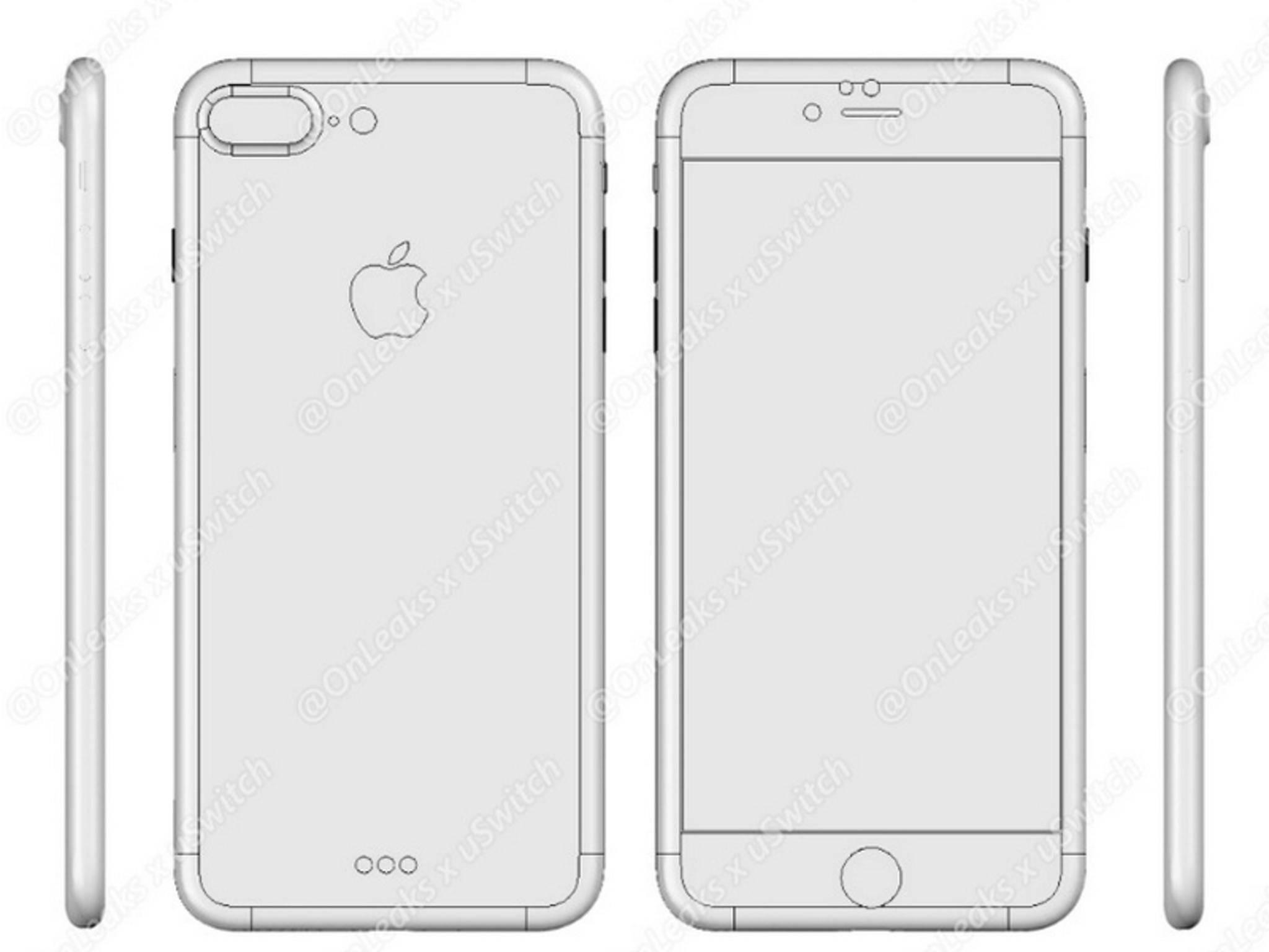 Sehen wir hier das iPhone 7 Plus?