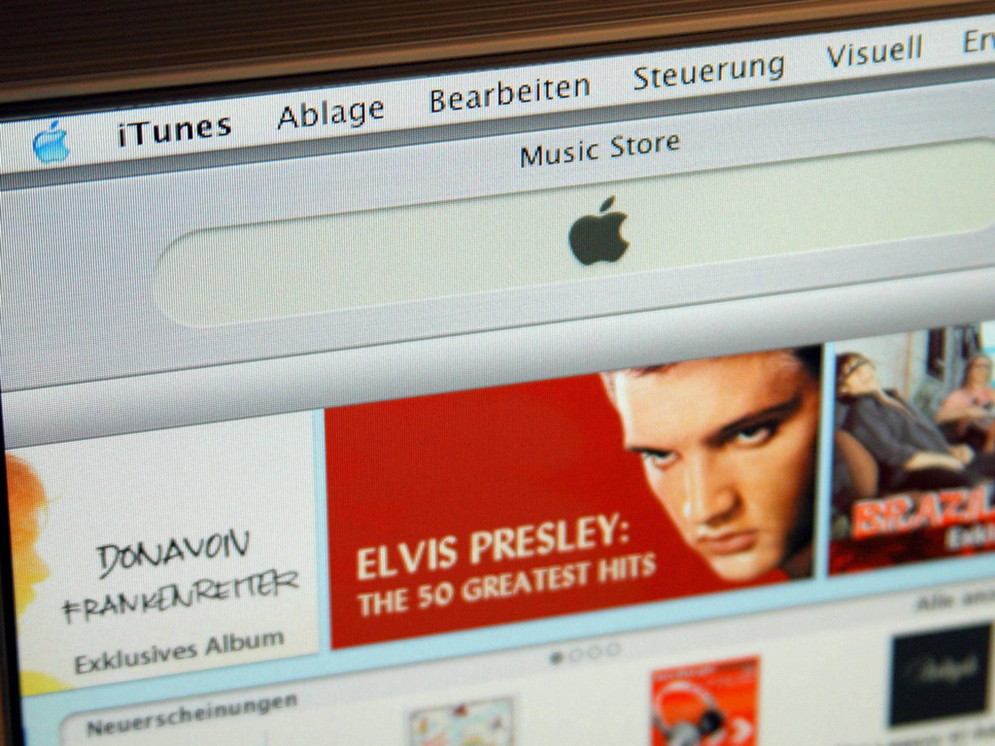 Verschwundene Musik in iTunes: Ein Bugfixing-Update soll das Problem beheben.