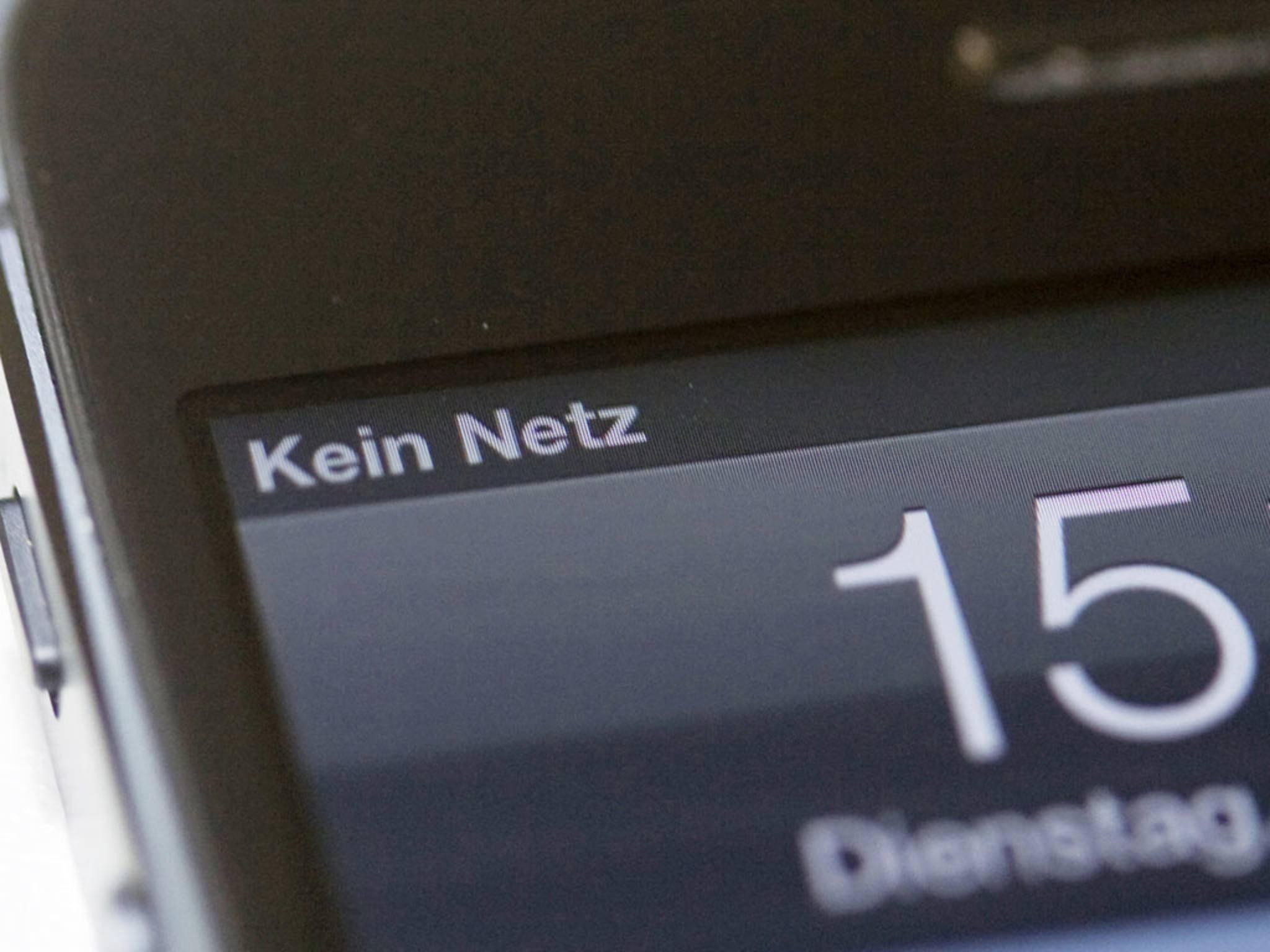 Kein Netz: Mit dieser versteckten App erfährst Du den exakten Wert der Signalstärke.