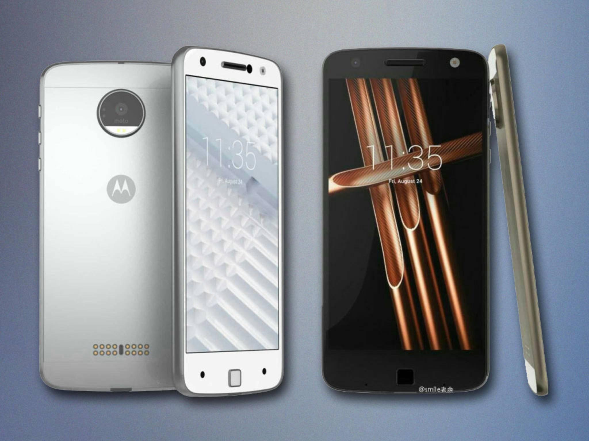 """Die beiden neuen Motorola-Modelle """"Vertex"""" und das """"Vector Thin""""."""
