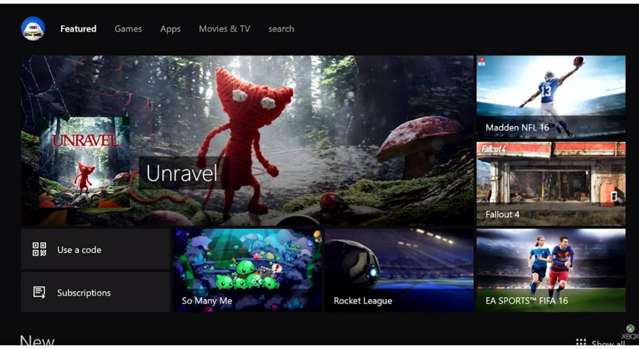 Der Xbox One Store wird mit dem Windows Store zusammengelegt.