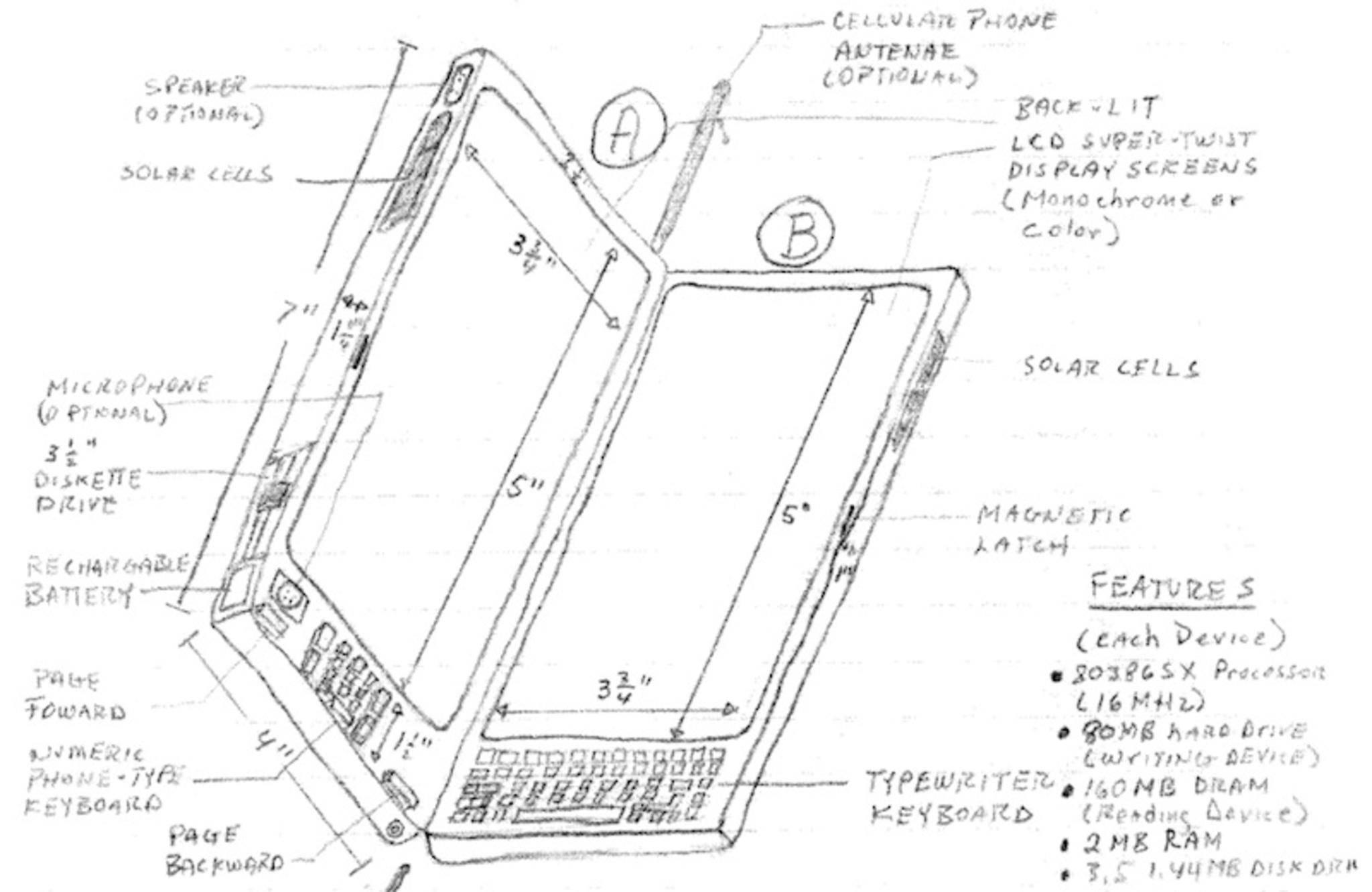 Der Kläger siehtsein 1992 eingereichtes Patent durch das iPhone verletzt.