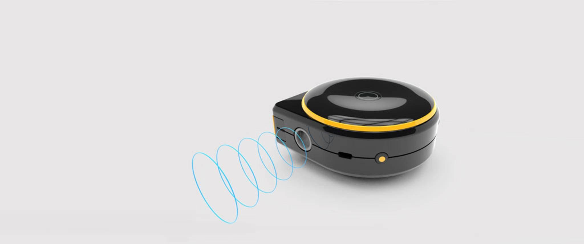 Der Remote Mode misst per Laser den Abstand zu einem Objekt.