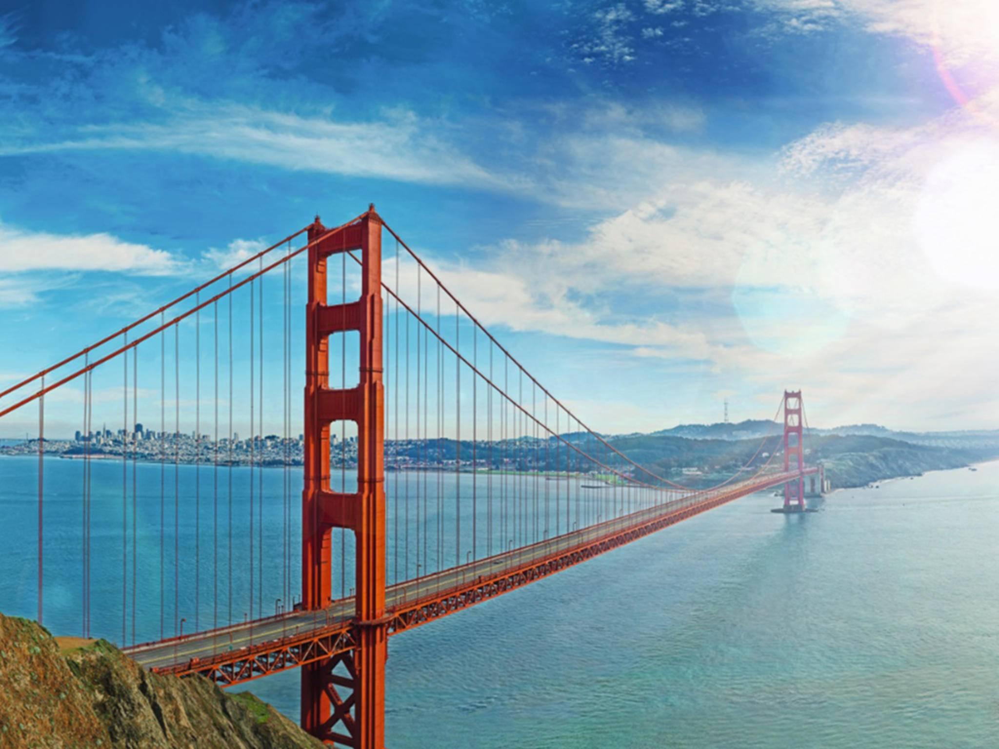 Na, kannst Du den Bentley auf der Golden Gate Bridge erkennen?