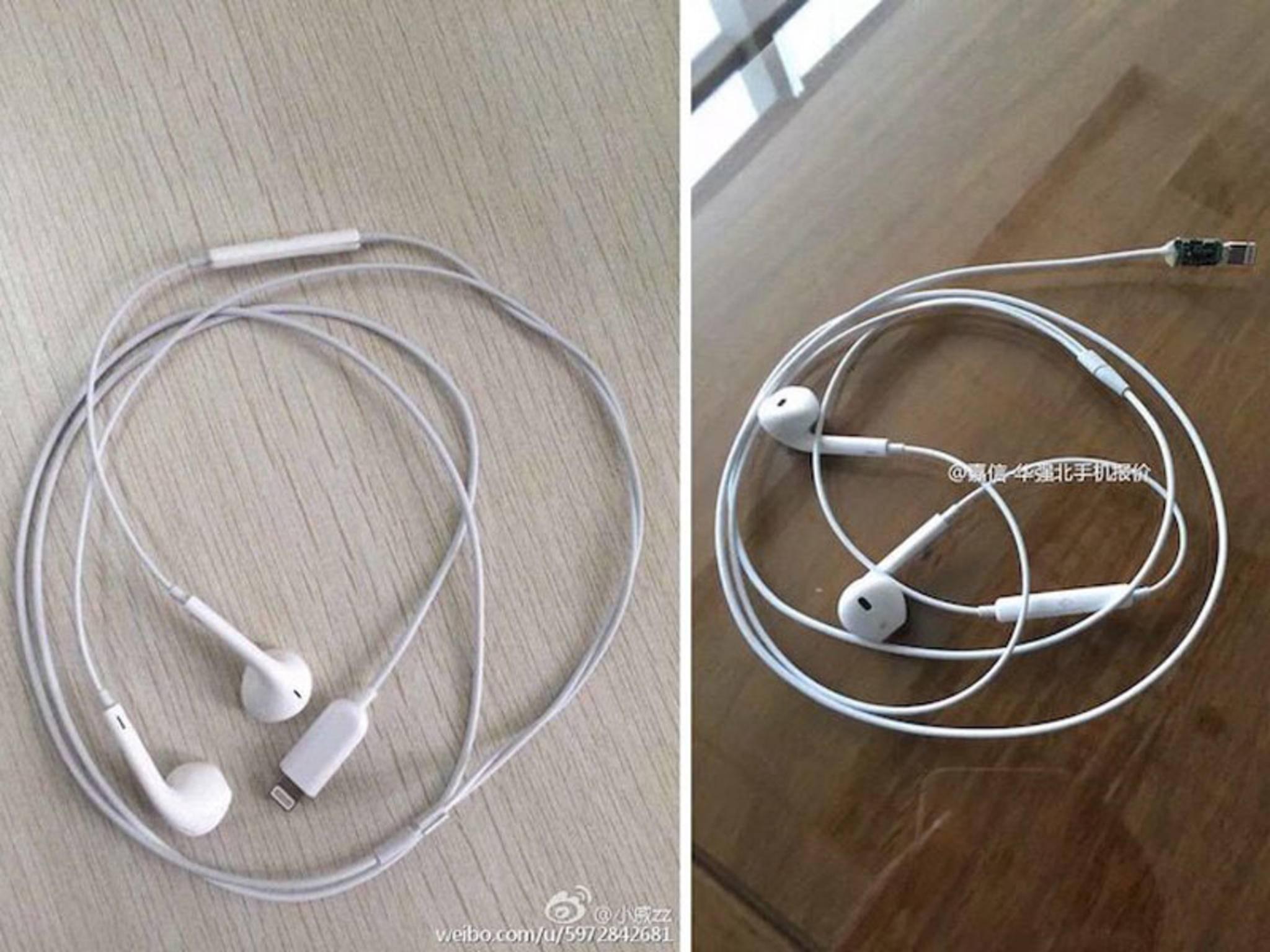 Sind das die neuen EarPods mit Lightning-Anschluss?