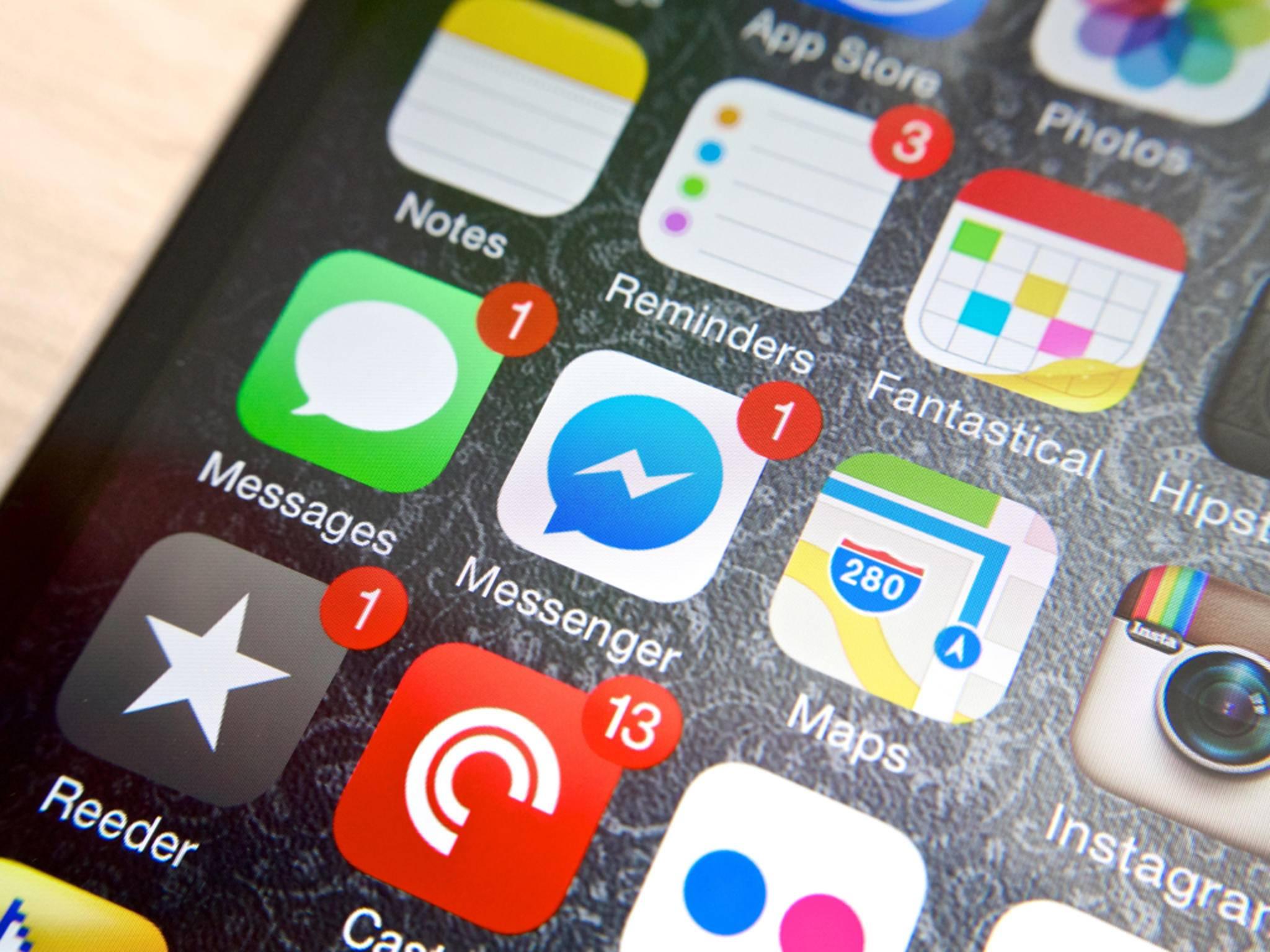 Der Facebook Messenger bekommt ein Update spendiert.